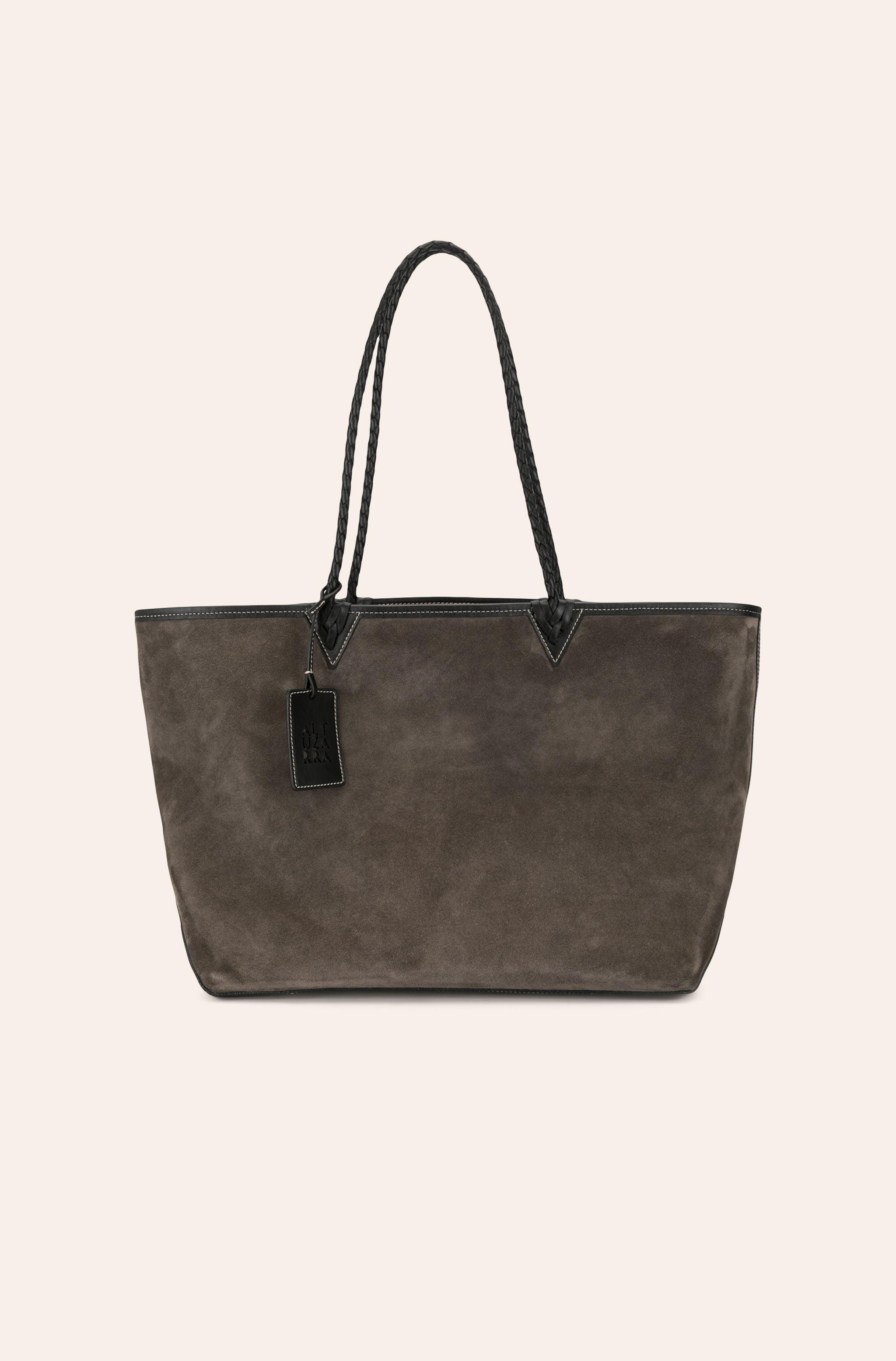 Reversible Leather Tote 3
