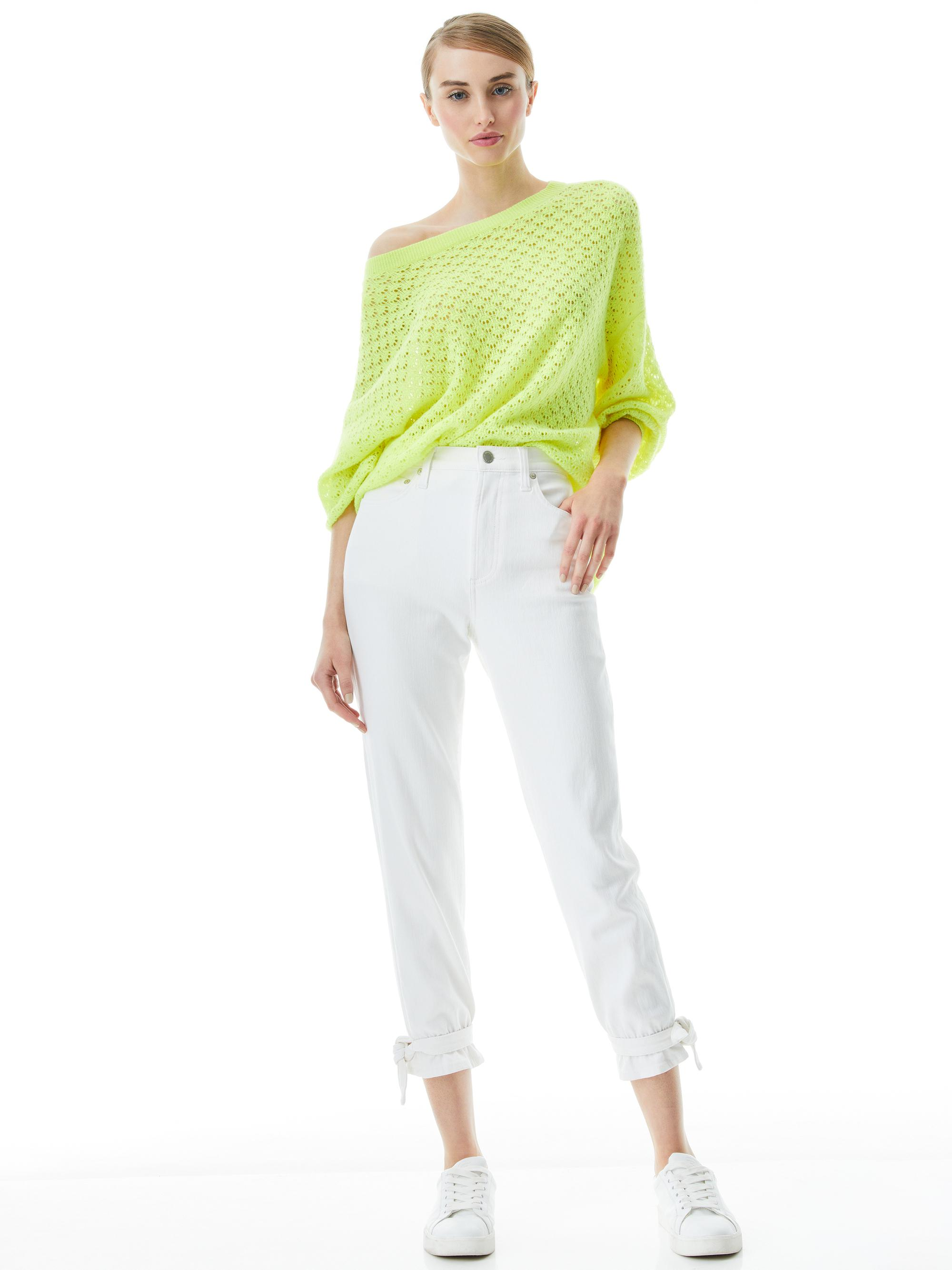 AMAZING HIGH RISE TIE PANT 2
