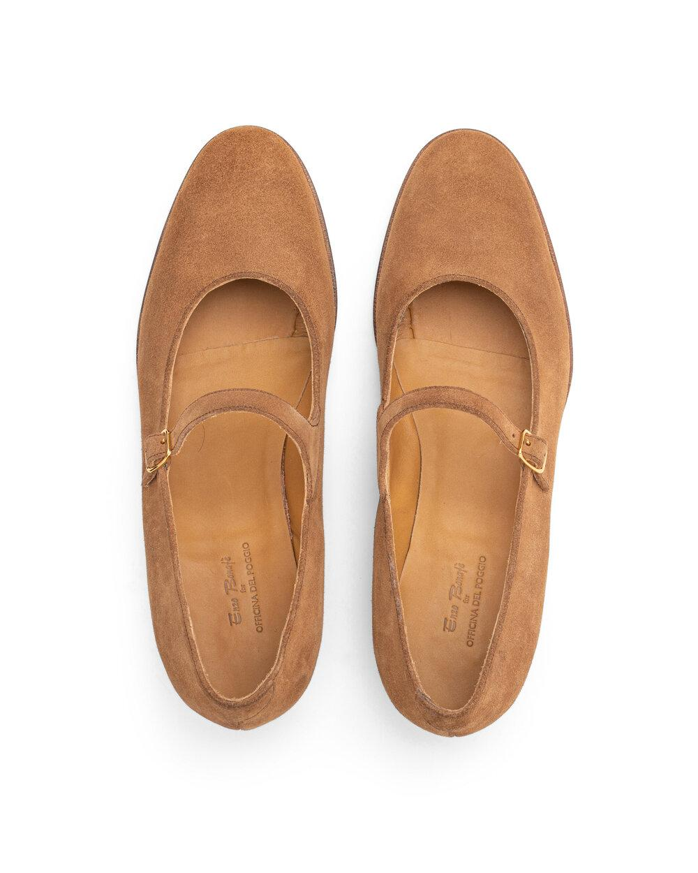 ODPEssentials Classic Mary Jane - Tan Suede 3