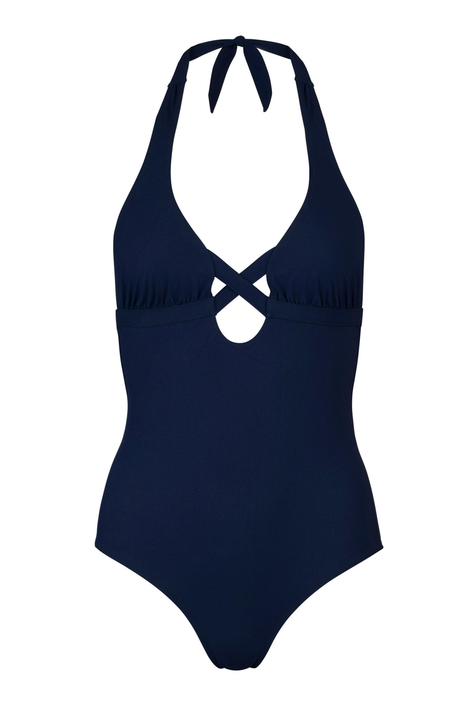 CANNES Cross one piece Navy 1