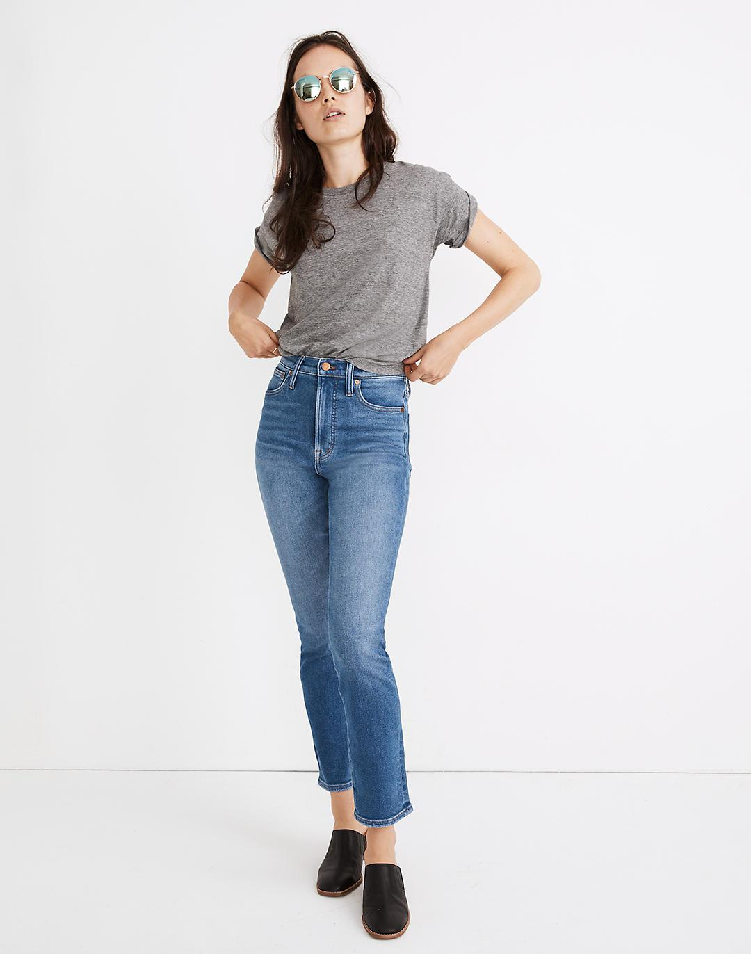 The Petite Perfect Vintage Jean in Englewood Wash