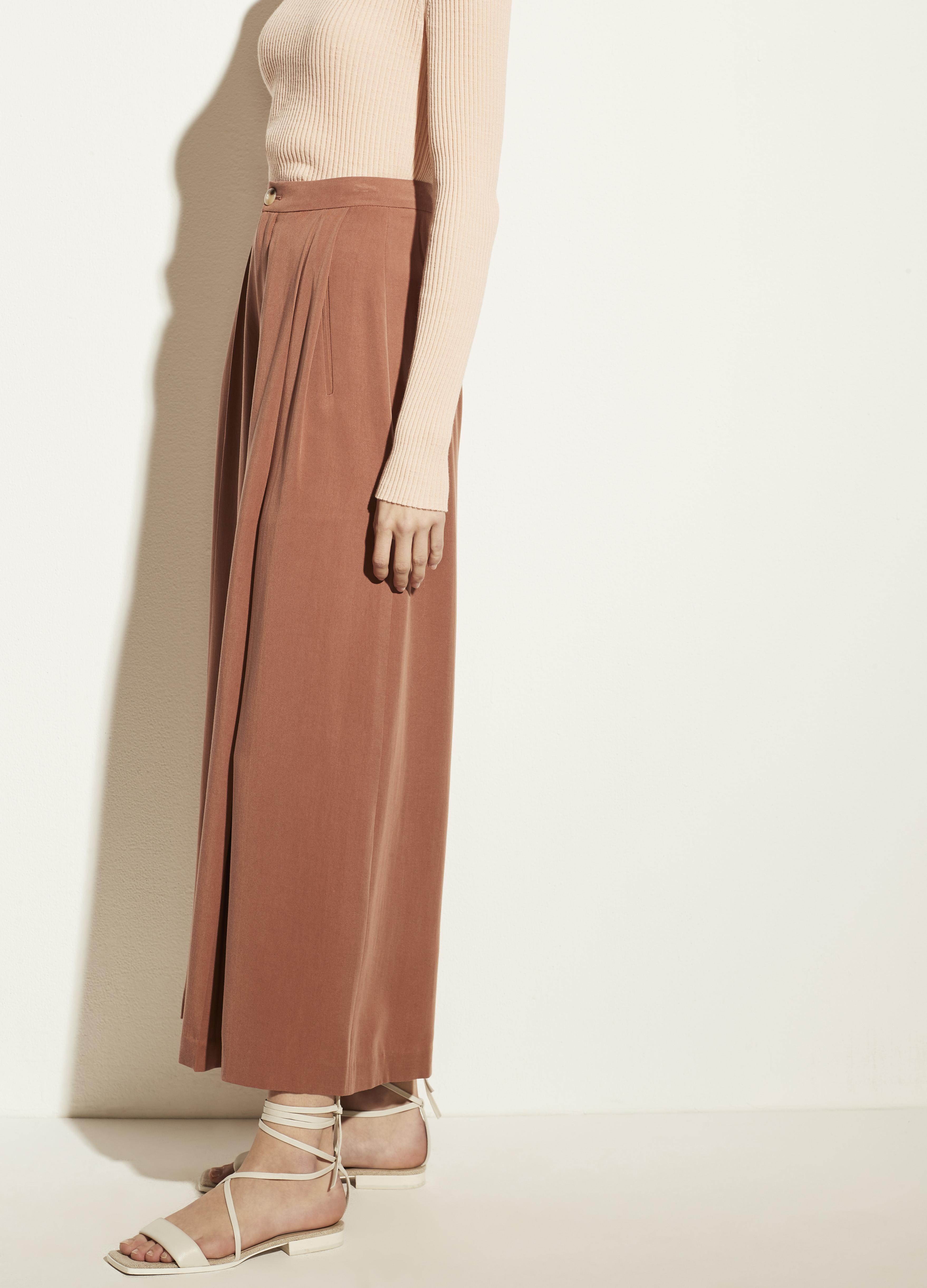 Pleated Culotte 2