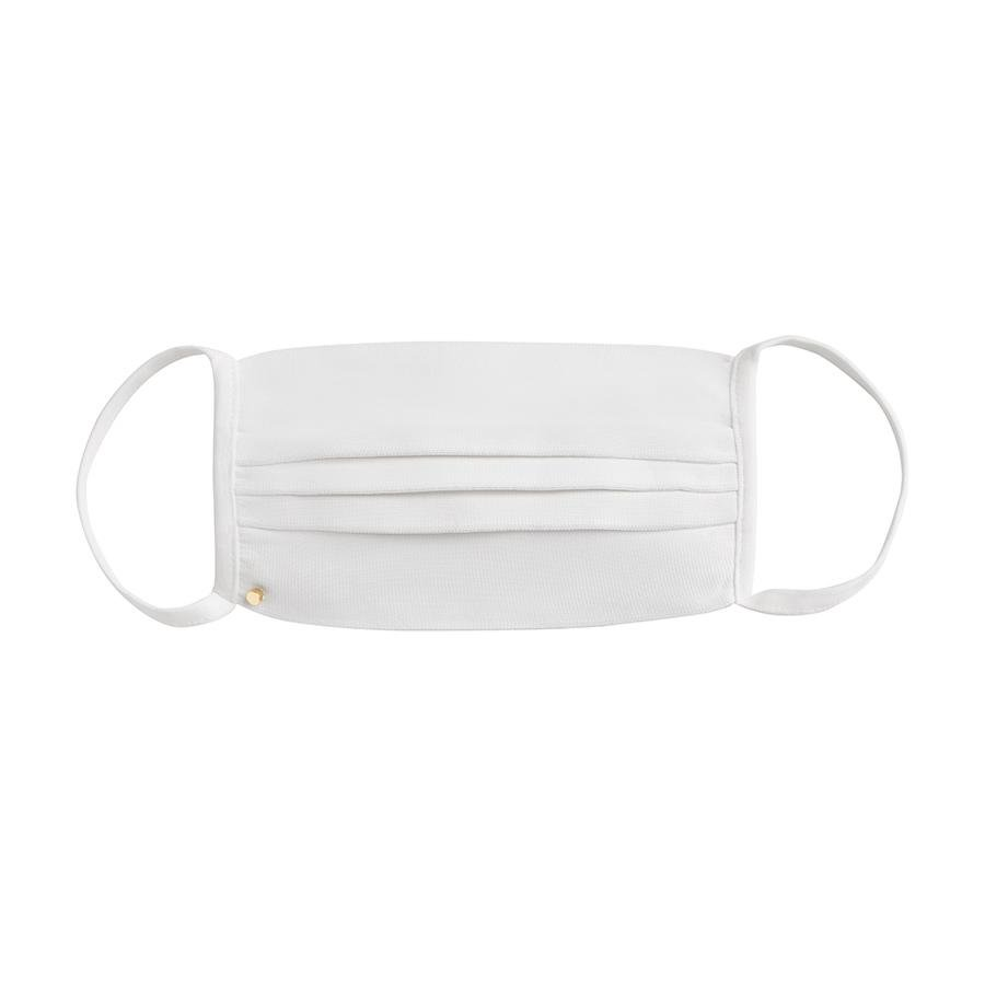 Women's Face Mask in White | Antibacterial Knit by Cuyana