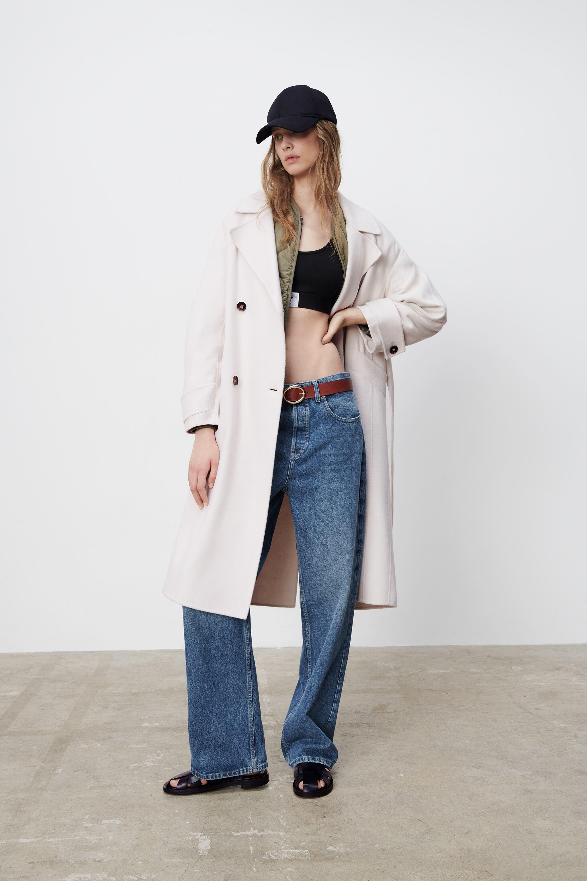 WOOL BLEND OVERSIZED COAT LIMITED EDITION