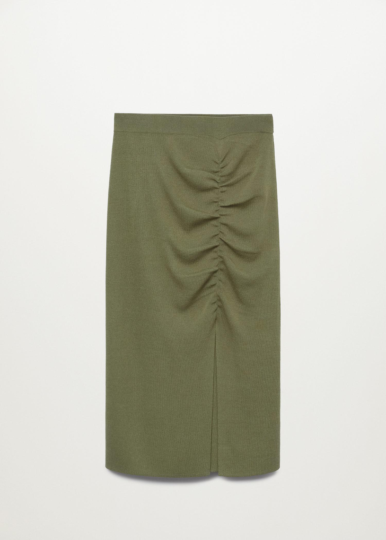 Ruched detail skirt 8