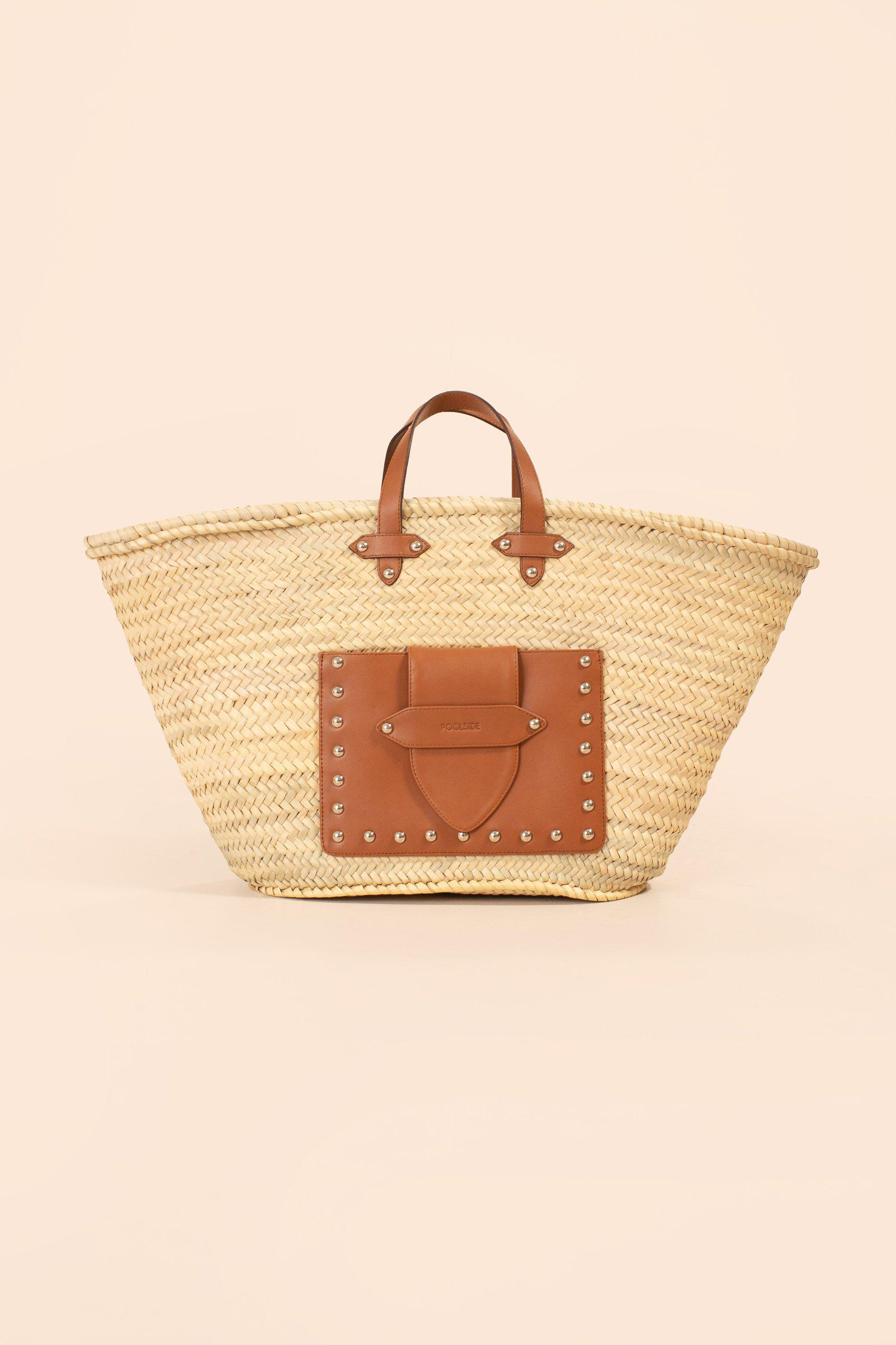 MOROCCAN STUDDED TOTE