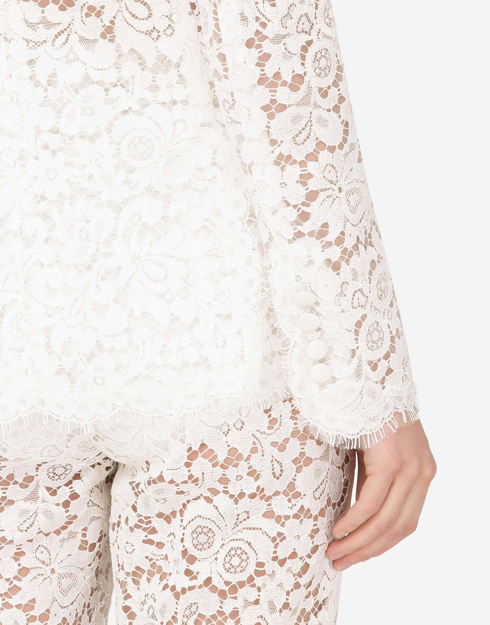 Lace jacket with edge detailing 6