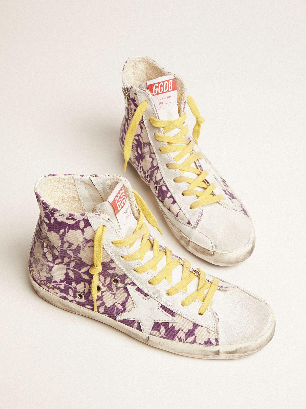 Francy LTD sneakers in canvas with floral pattern 1