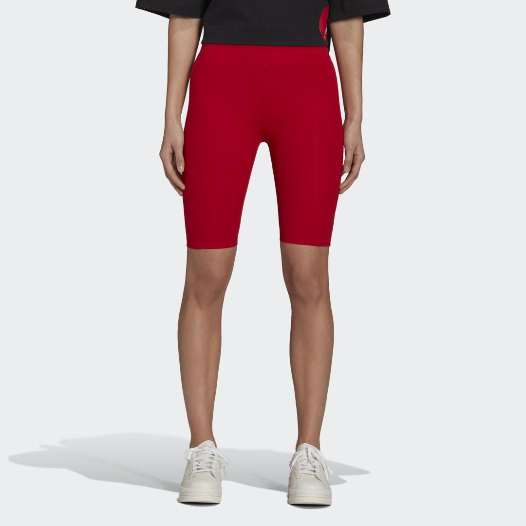 Y-3 Classic Short Tights Red S - Womens Training Pants