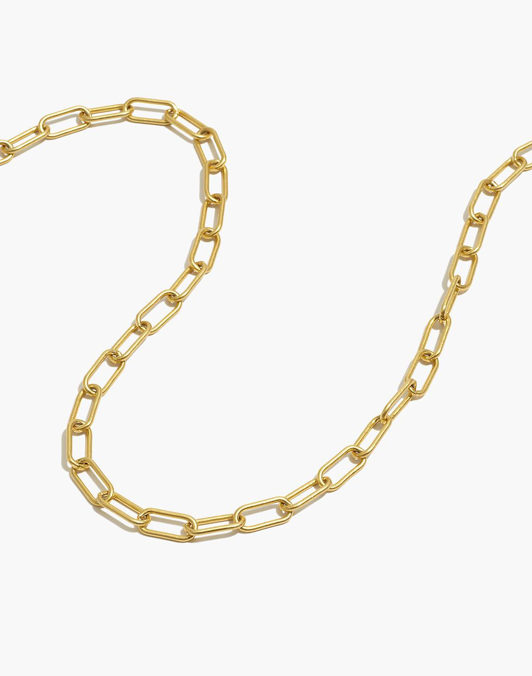 Convertible Medium Paperclip Chain Necklace