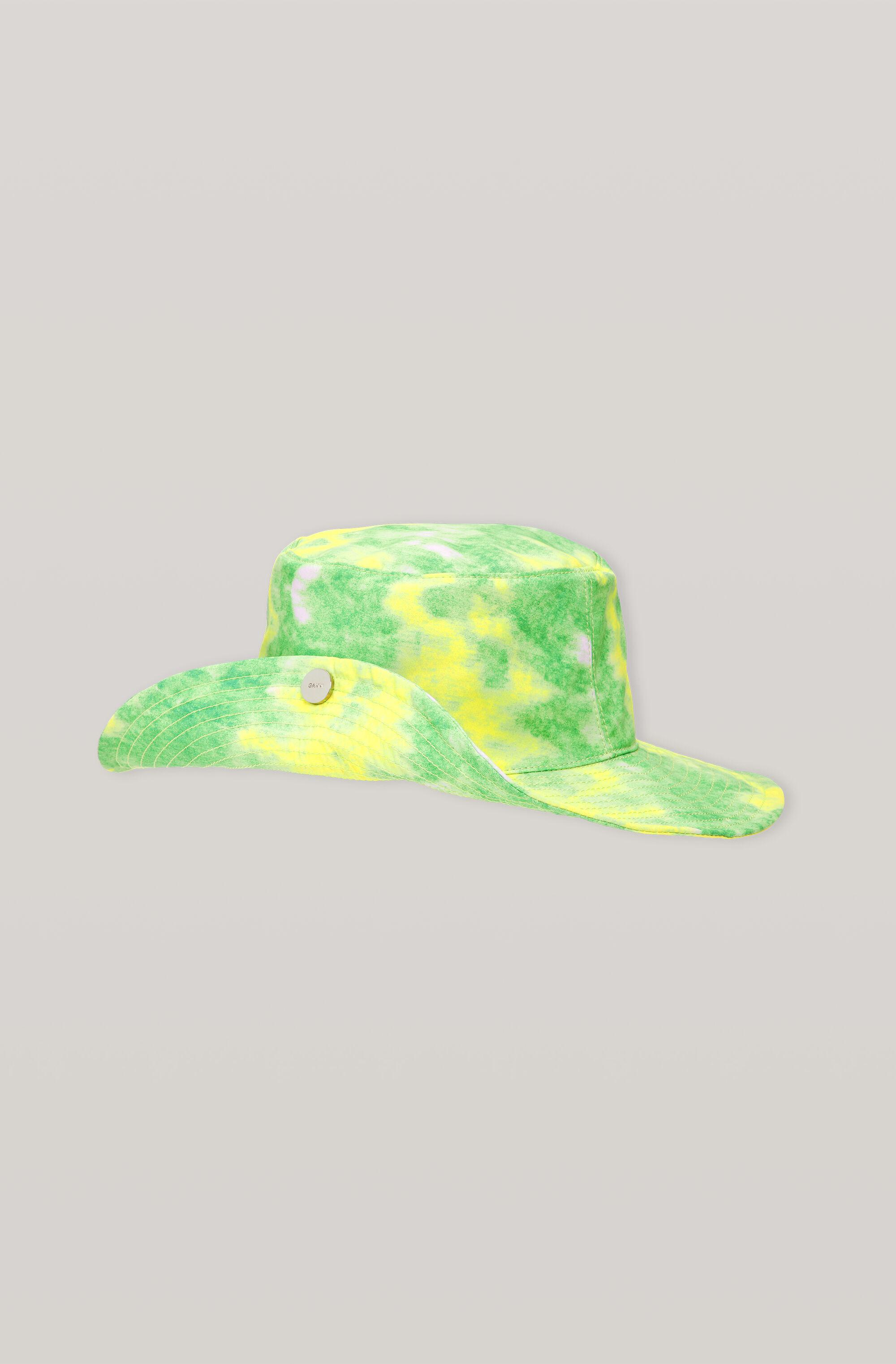 Recycled Tech Fabric Snap Sun Hat 1