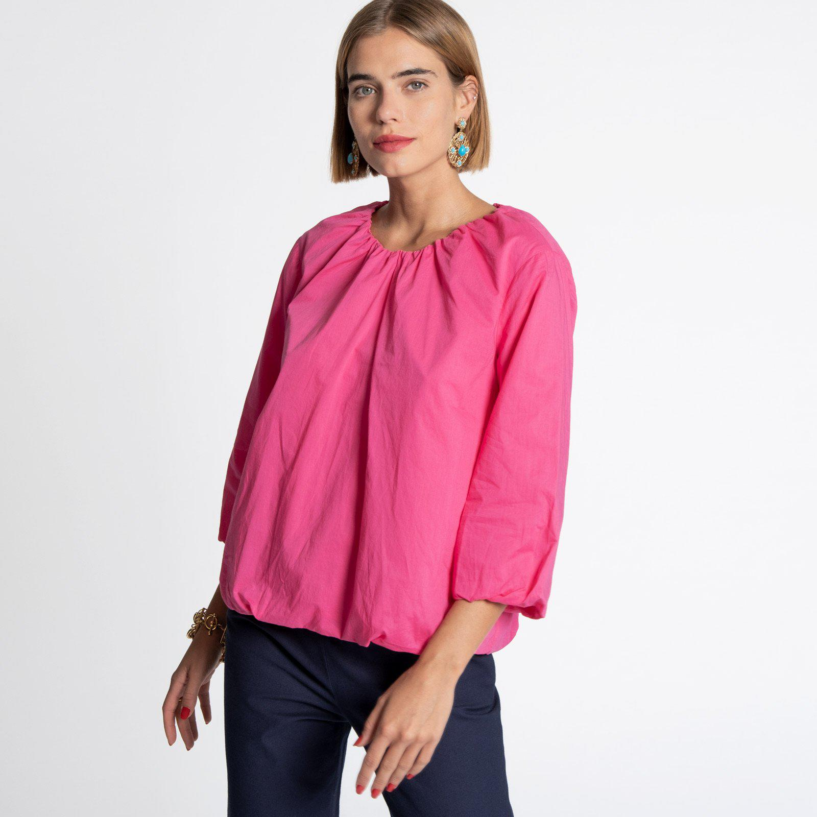 Emily Ruched Top Pink