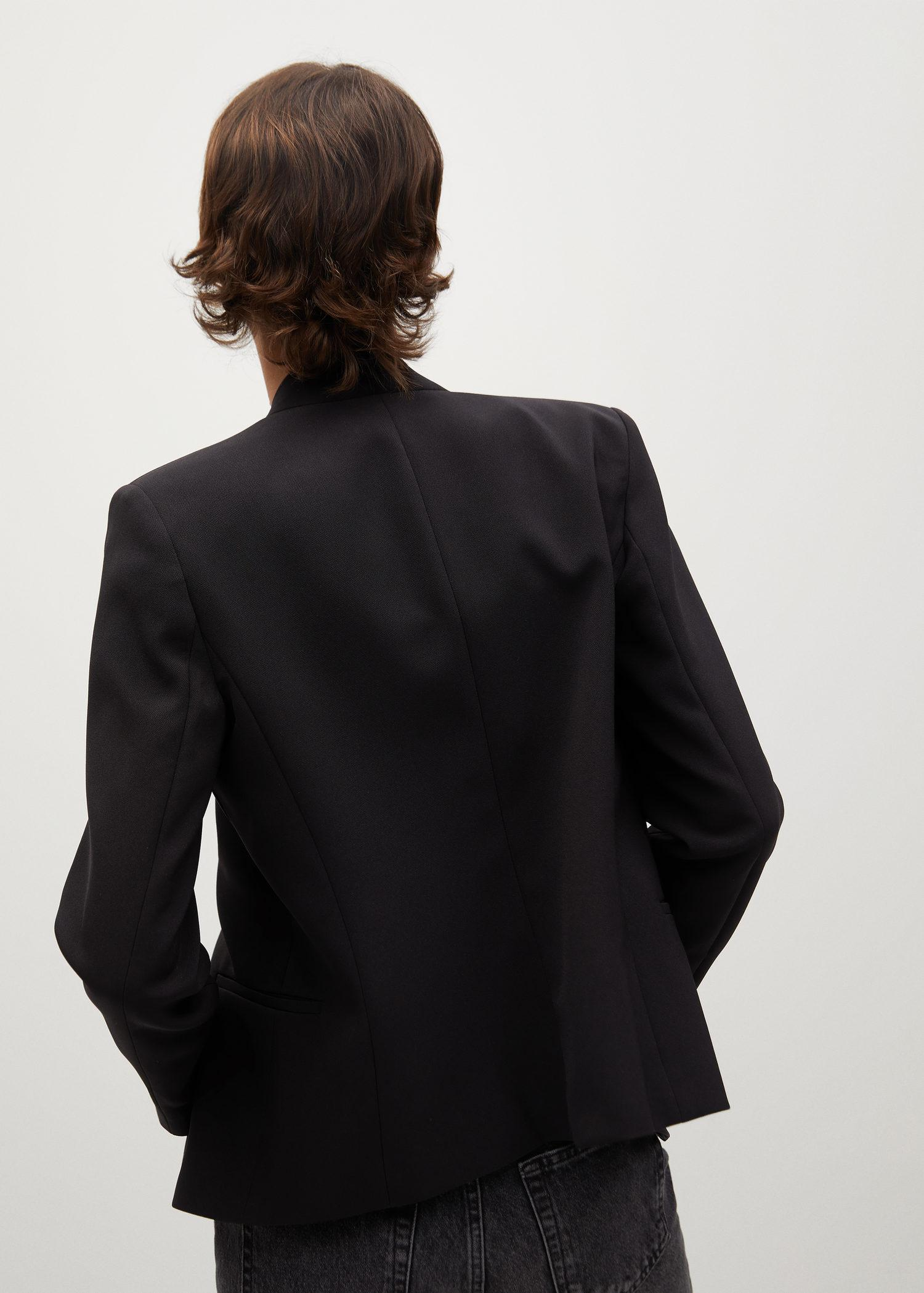 Crepe fitted blazer 2