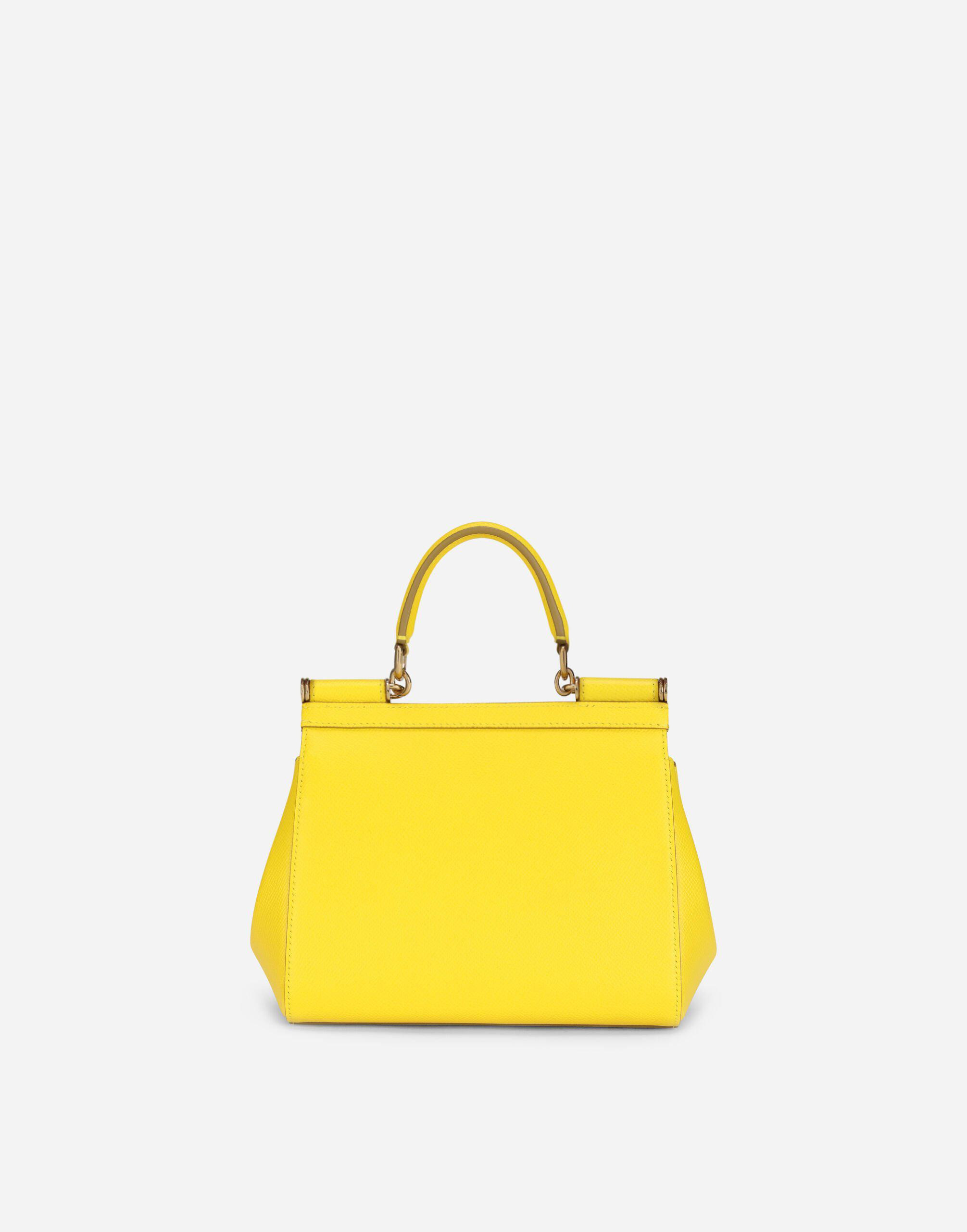 Small Sicily bag in dauphine calfskin 2