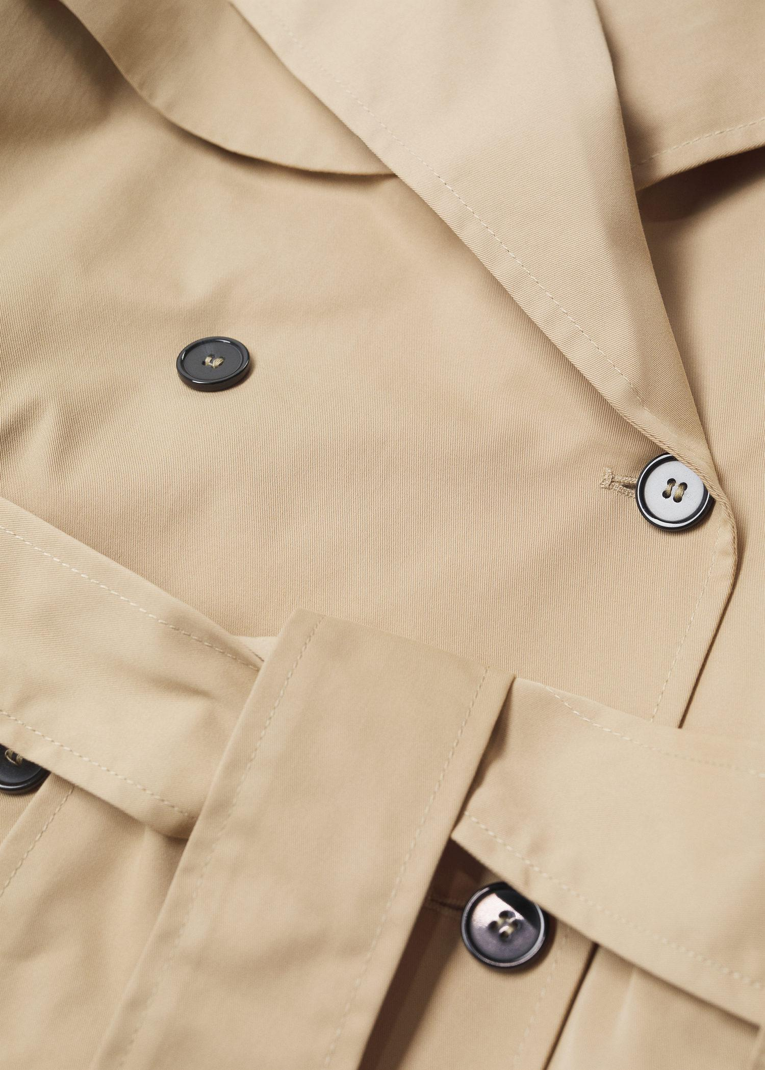 Classic cotton trench coat 9