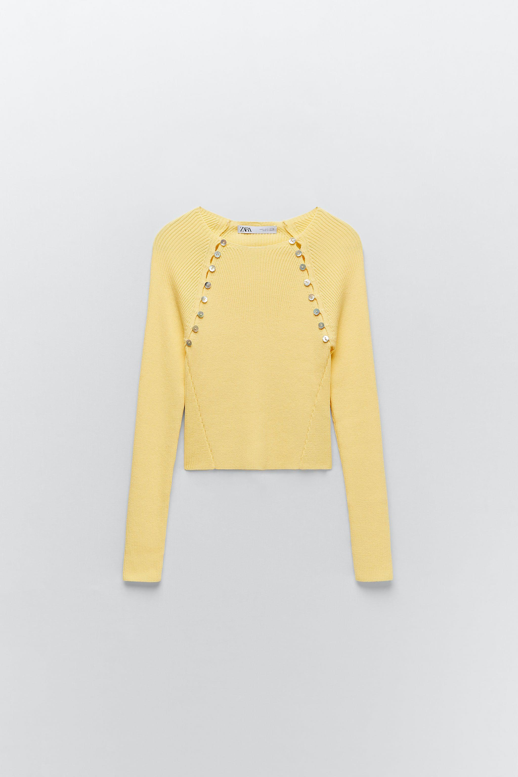 KNIT SWEATER WITH BUTTONS 5