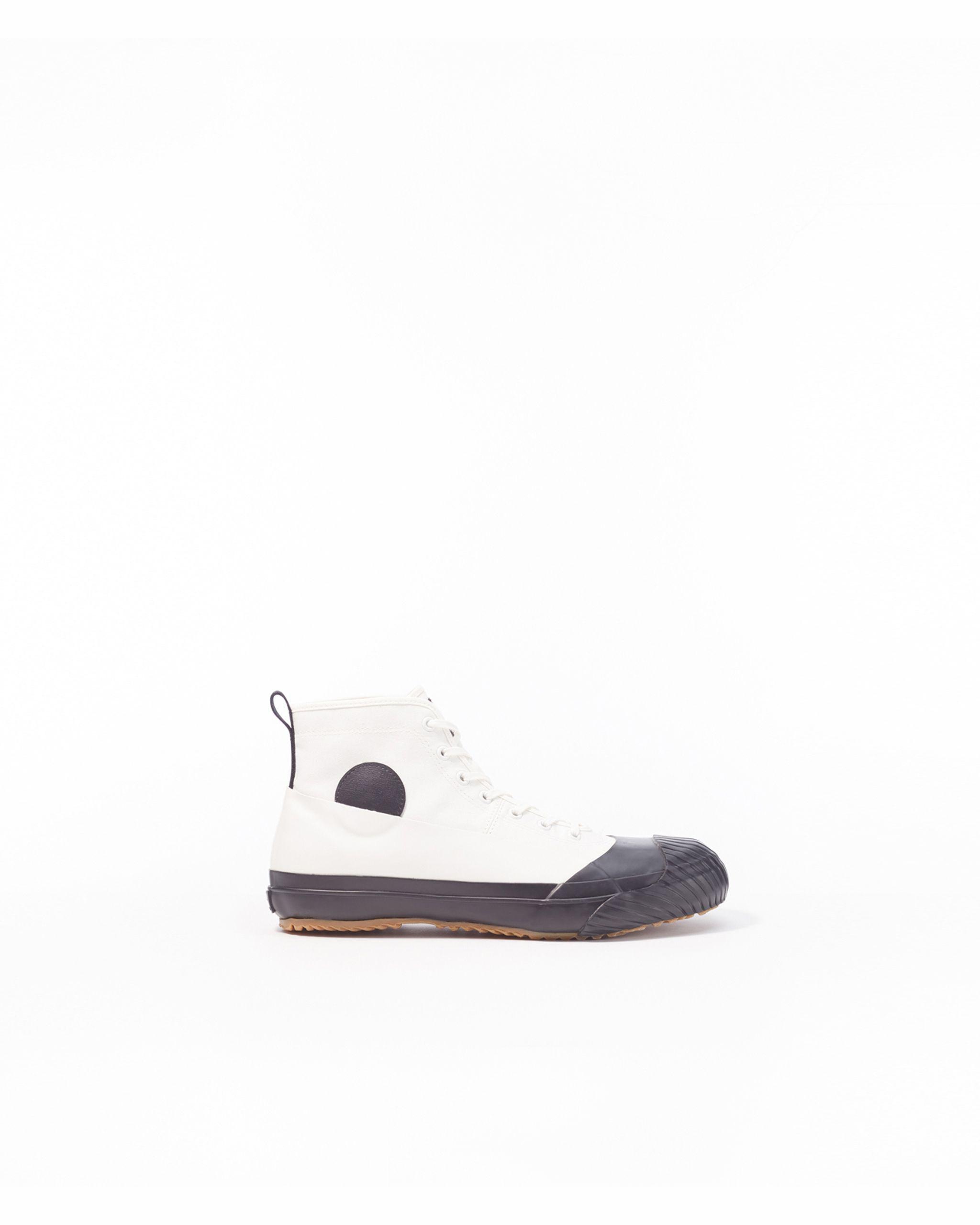 Canvas High-Top Sneaker