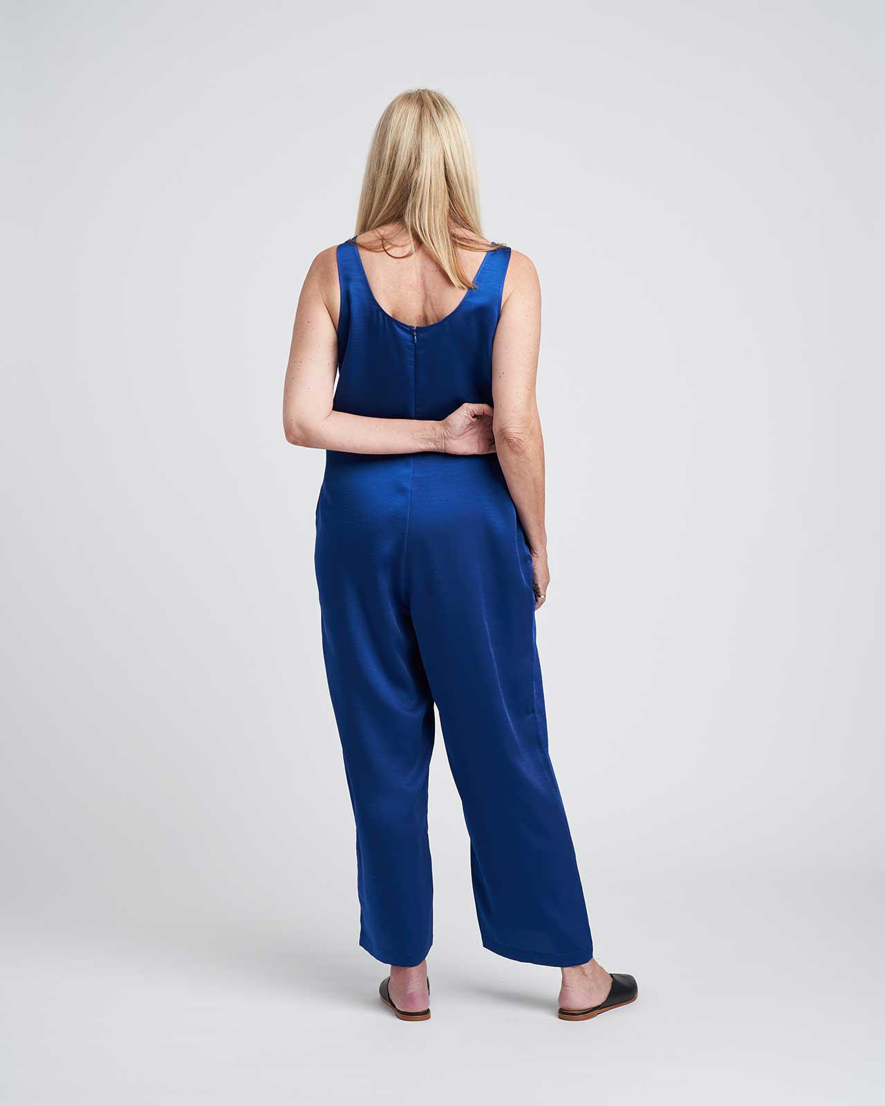 Judy Satin Relaxed Jumpsuit 7