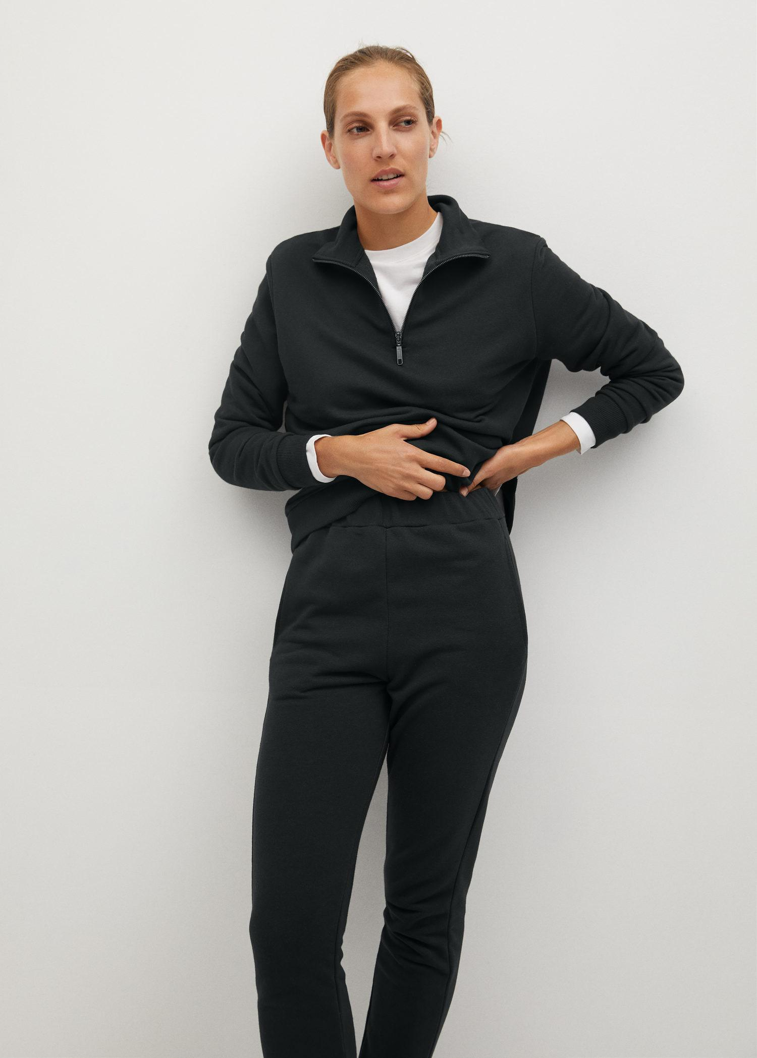 Cotton jogger-style trousers 5