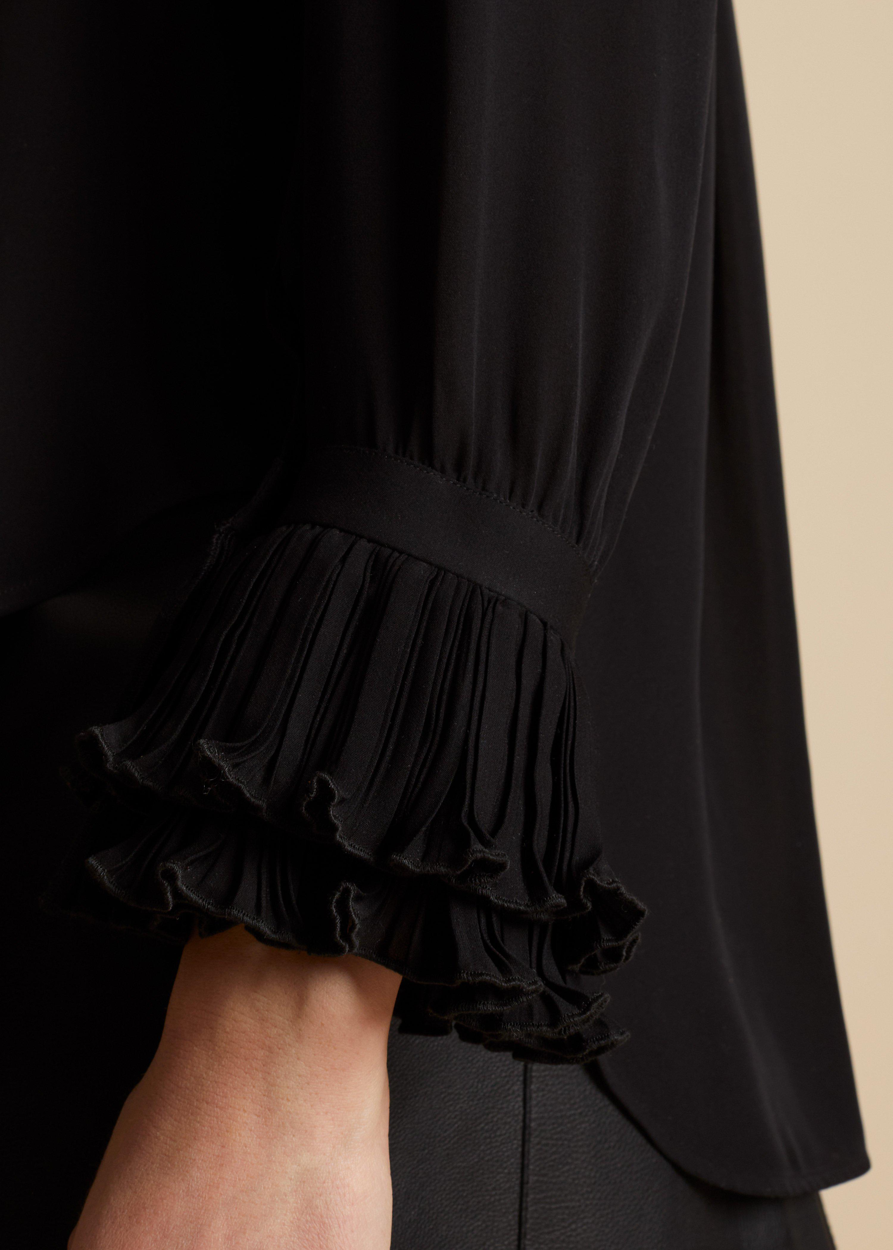 The Mary Top in Black 3