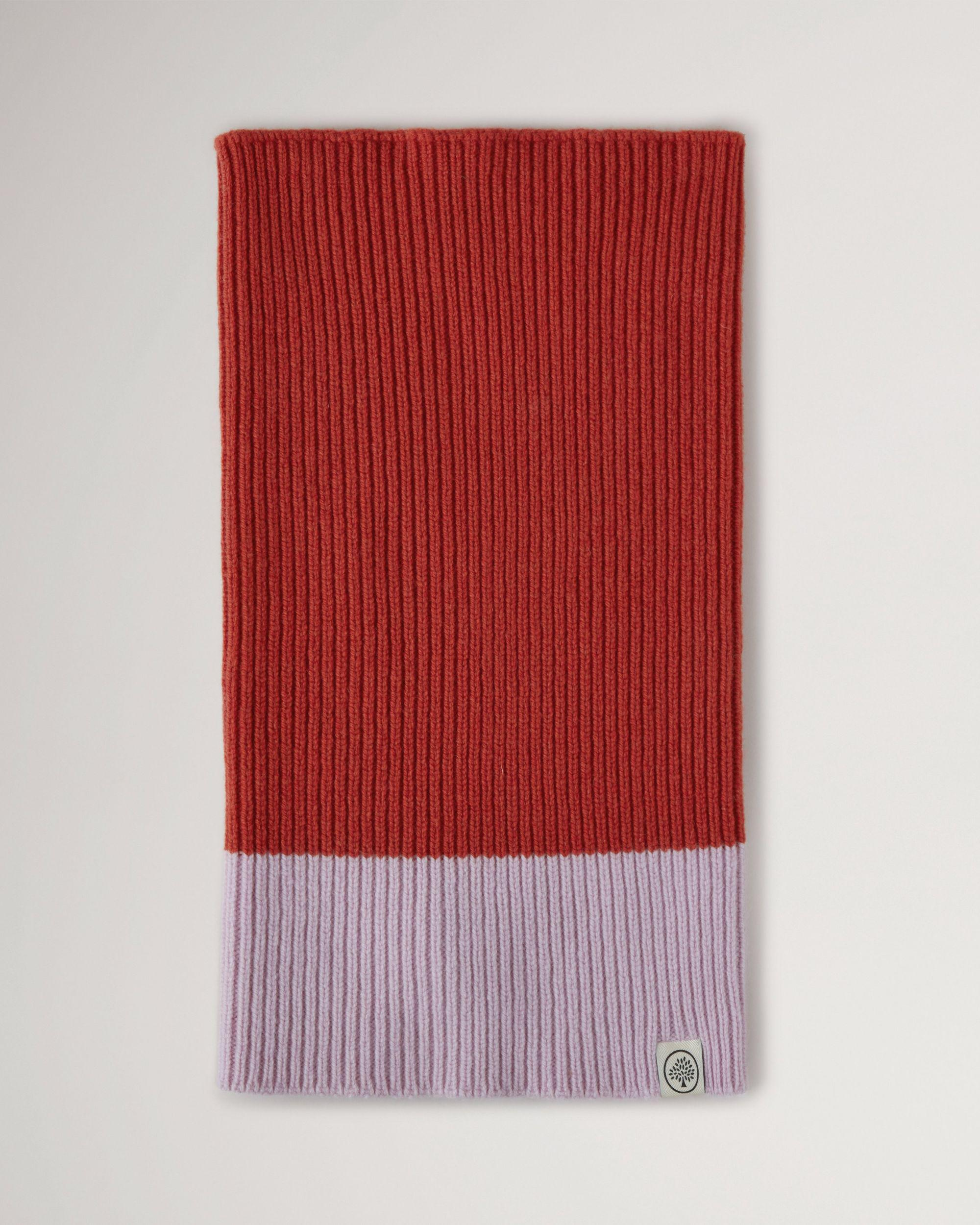 Colour Block Knitted Snood