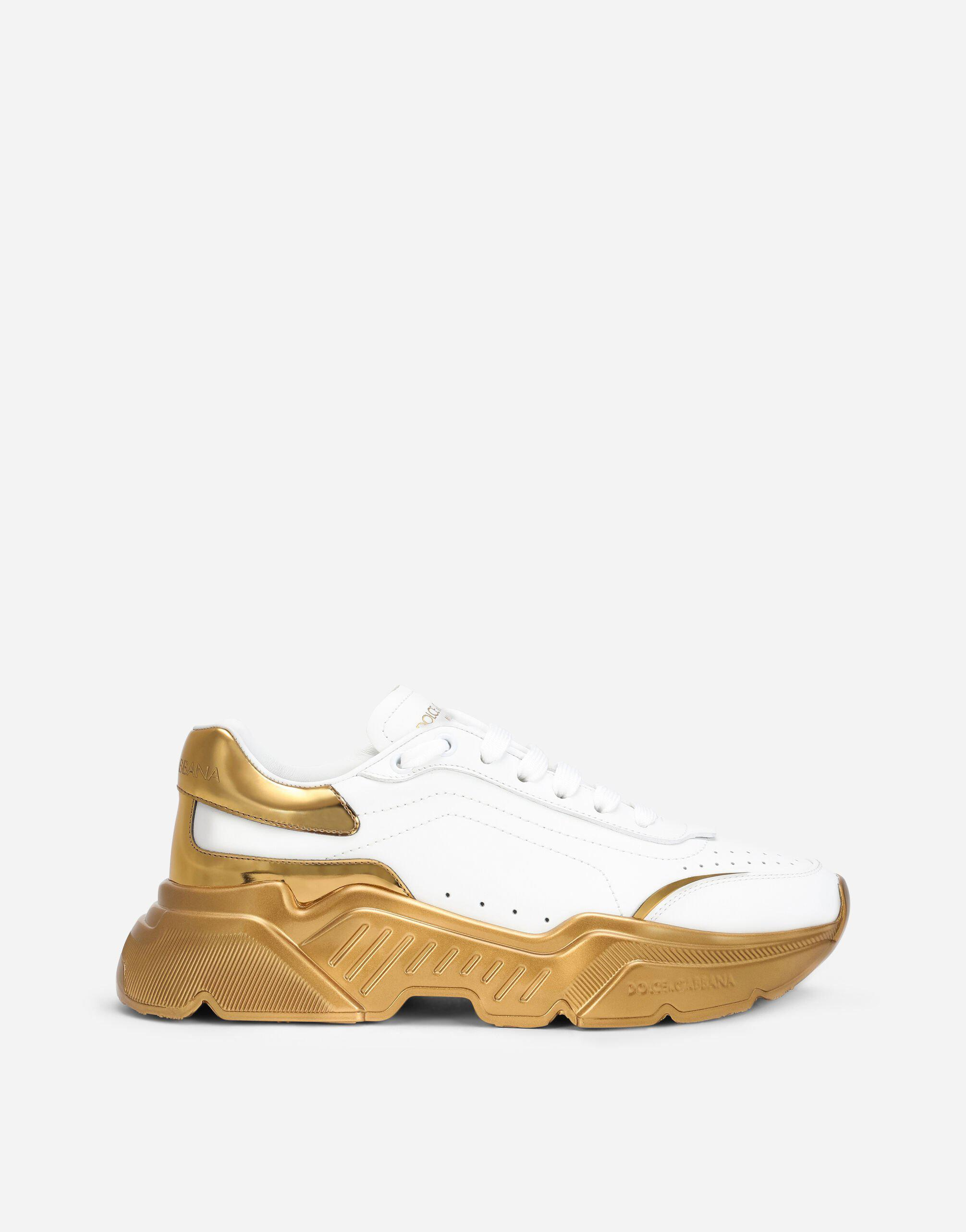 Daymaster sneakers in nappa leather with mirrored bottom