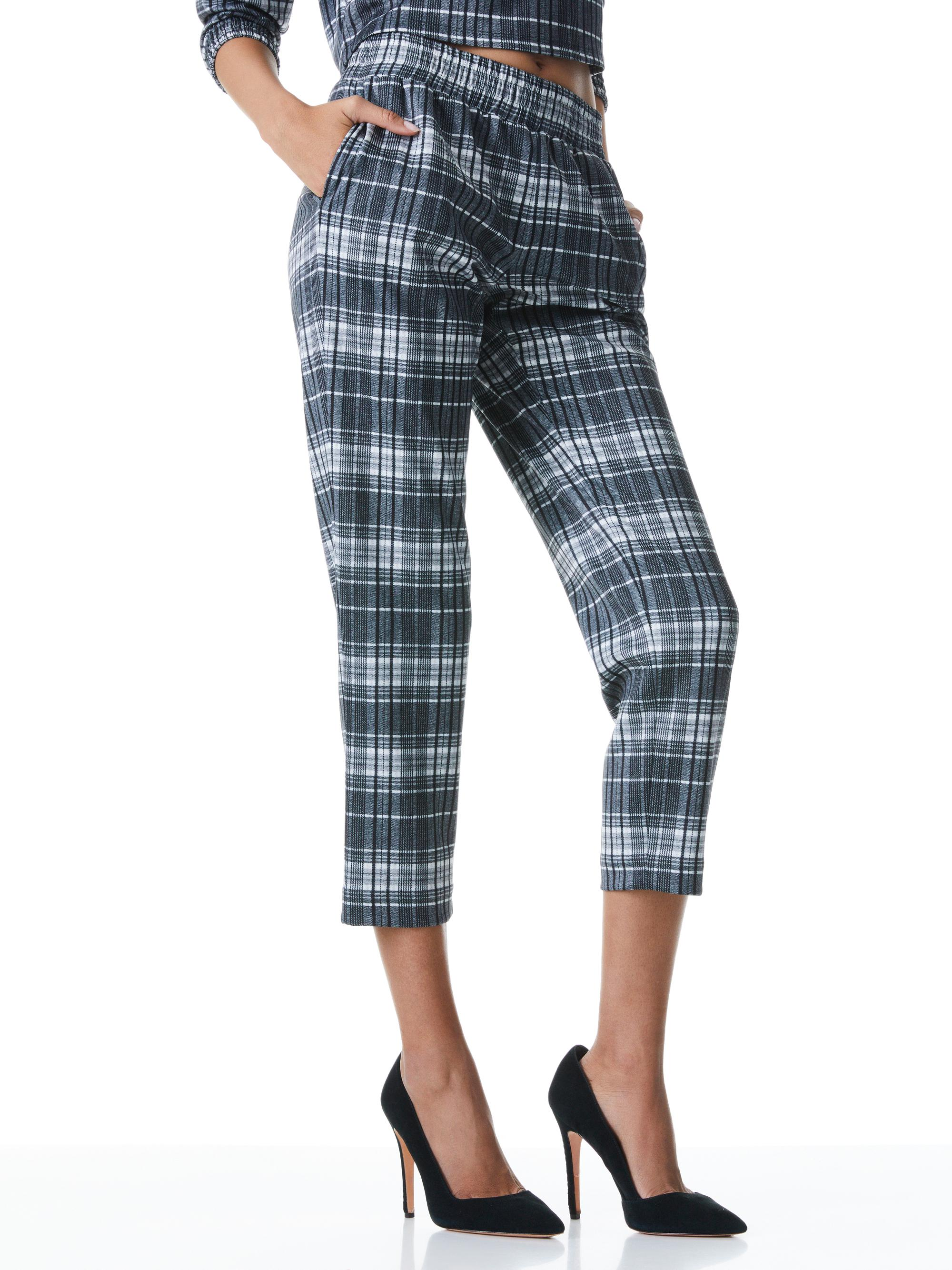 BENNY TAPERED PULL UP PANT