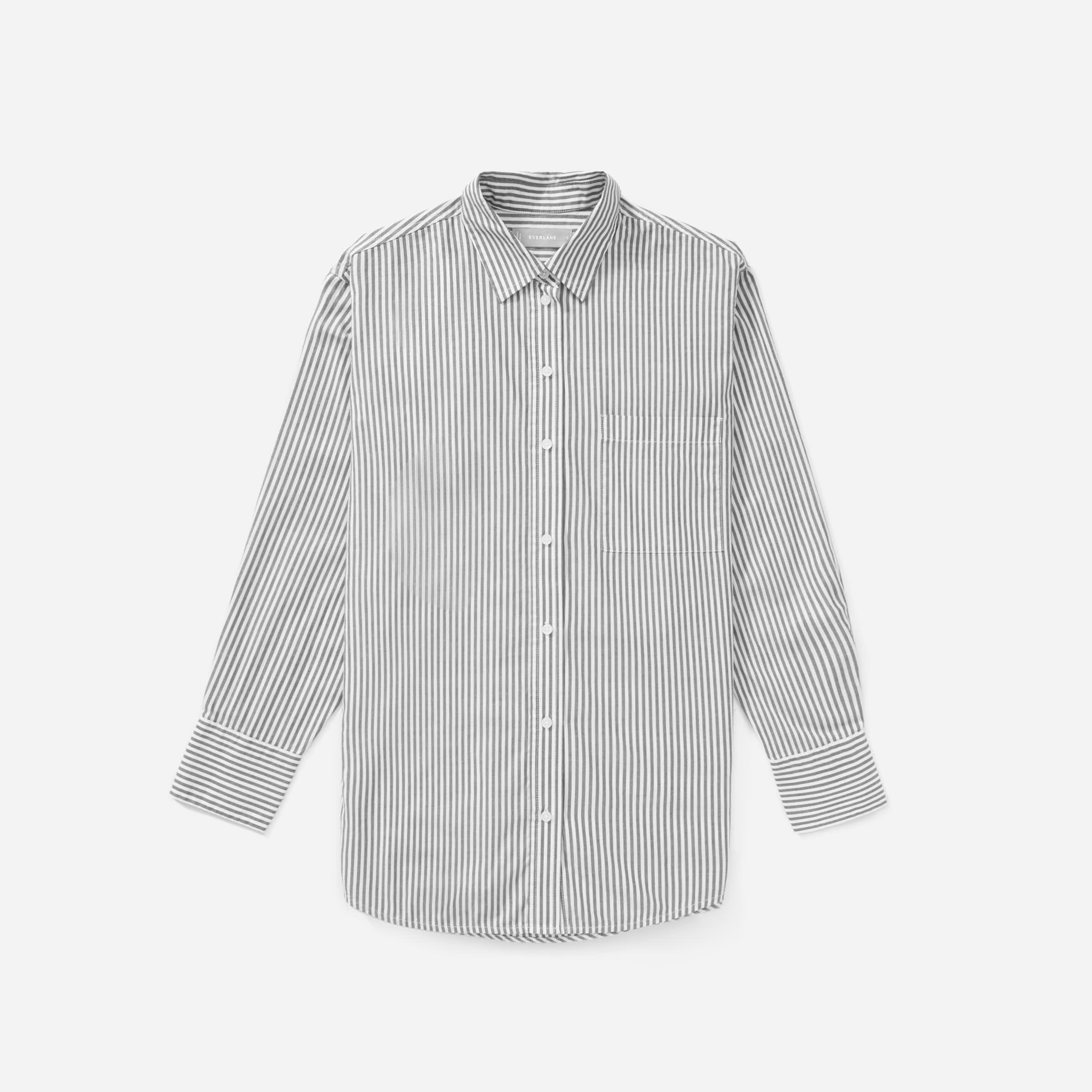The Silky Cotton Oversized Shirt  5