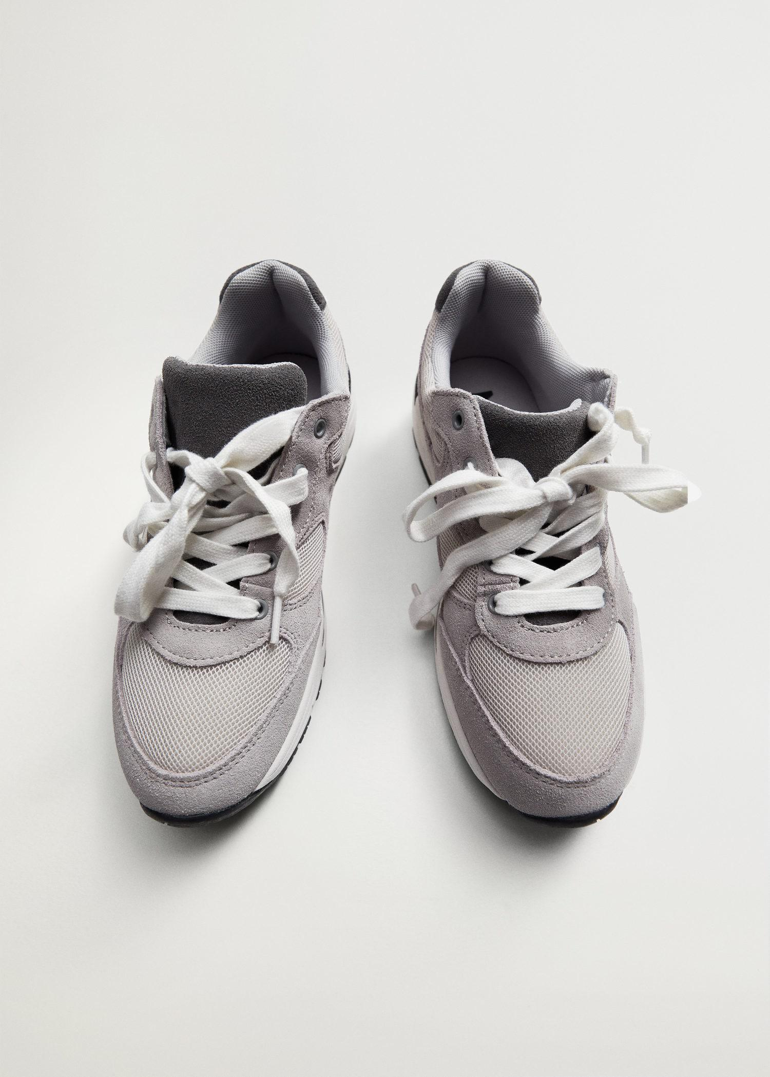 Lace-up leather sneakers 2
