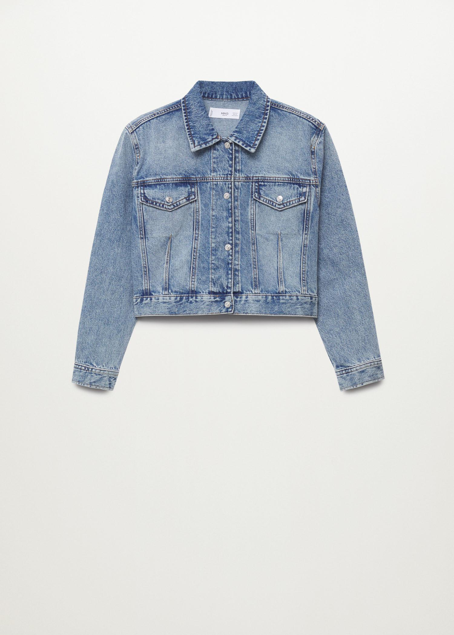 Cropped jacket with shoulder pads 7