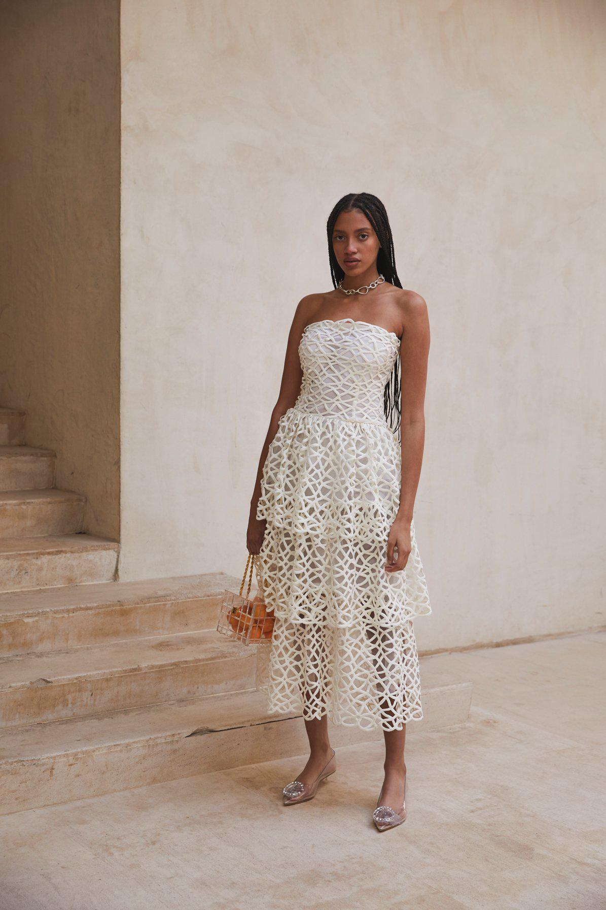 ANGELINA GOWN - OFF WHITE