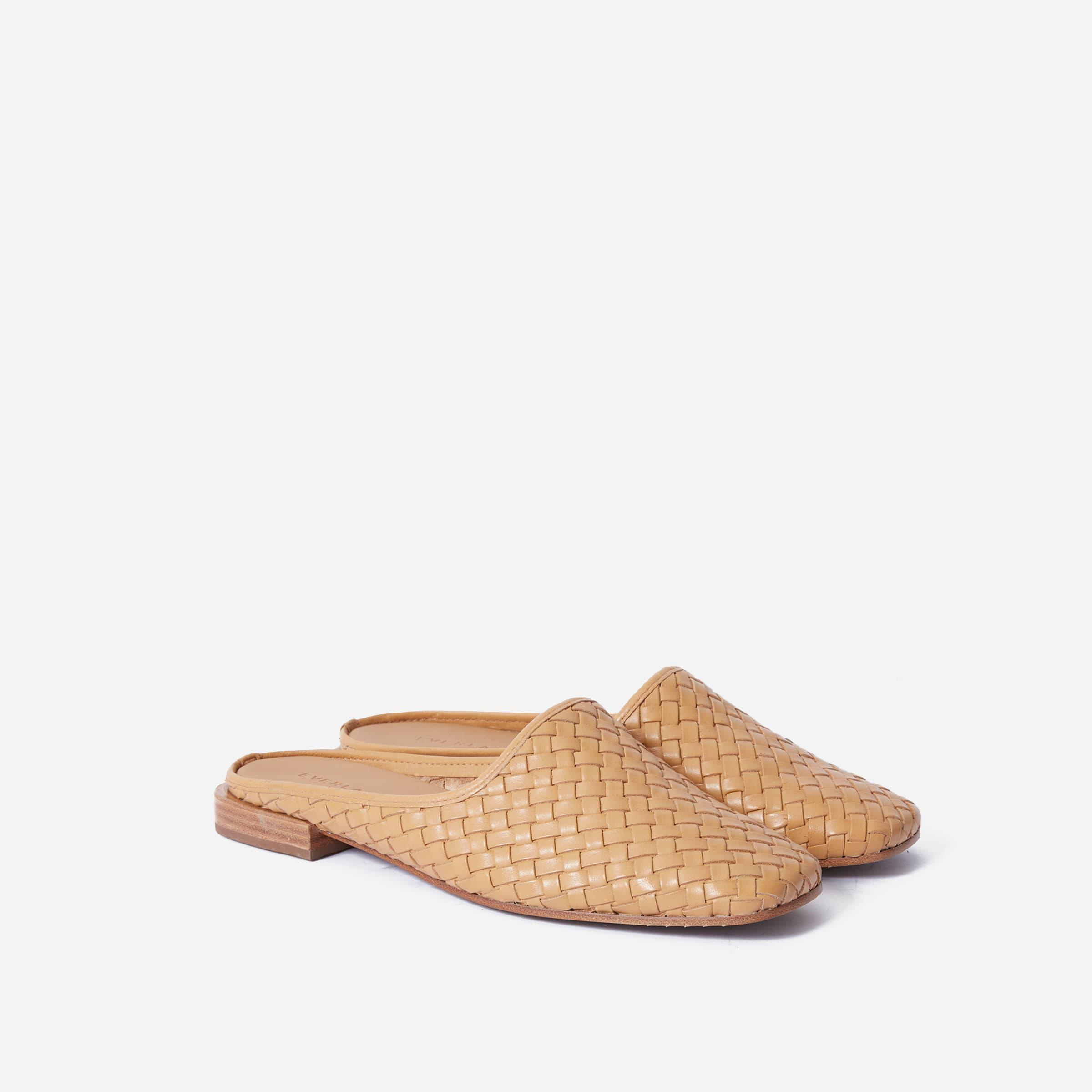 The Woven Leather Mule 1