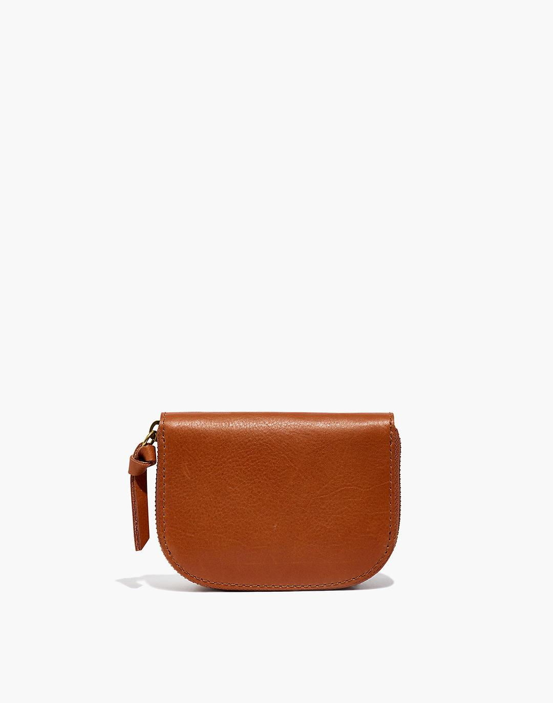 The Zip Wallet in Leather