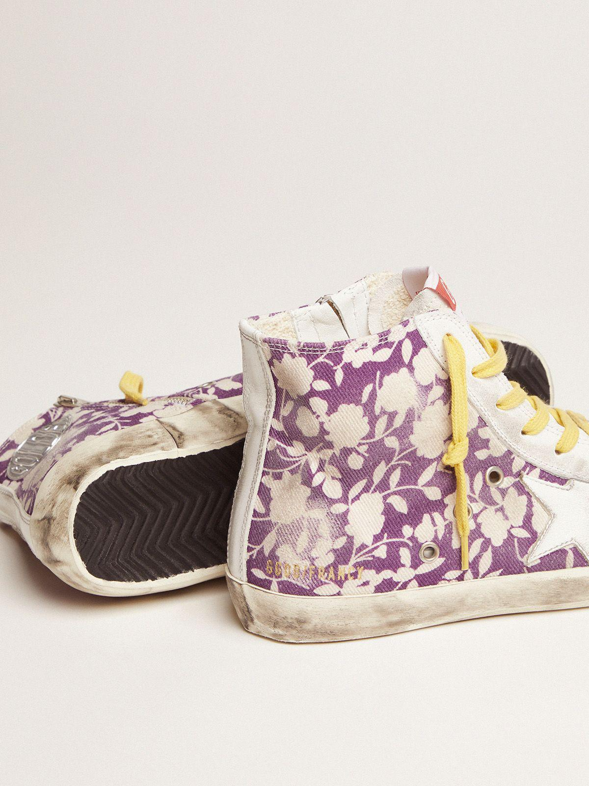 Francy LTD sneakers in canvas with floral pattern 2