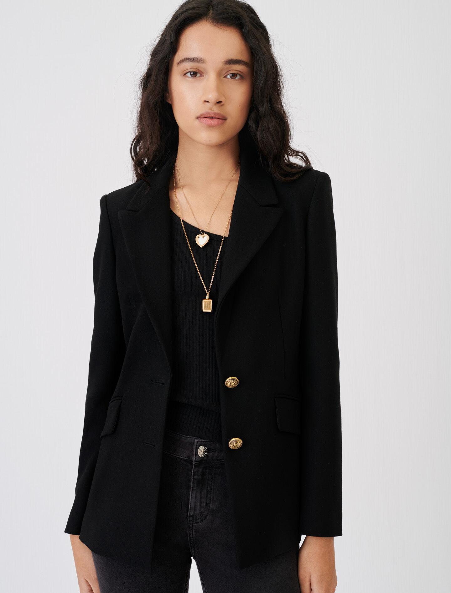 FITTED SUIT JACKET