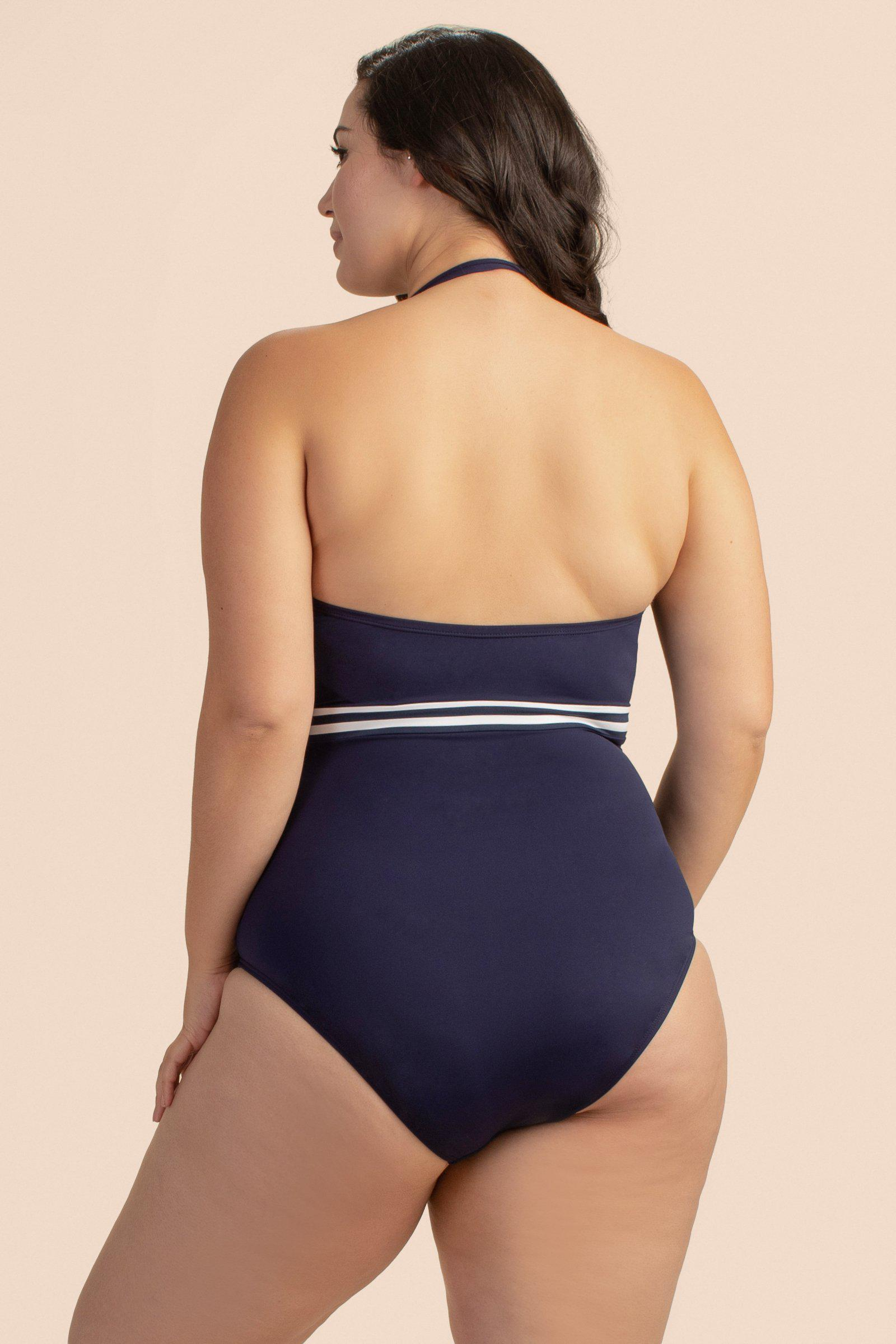 MADE IN THE SHADE PLUS BANDEAU ONE PIECE 1