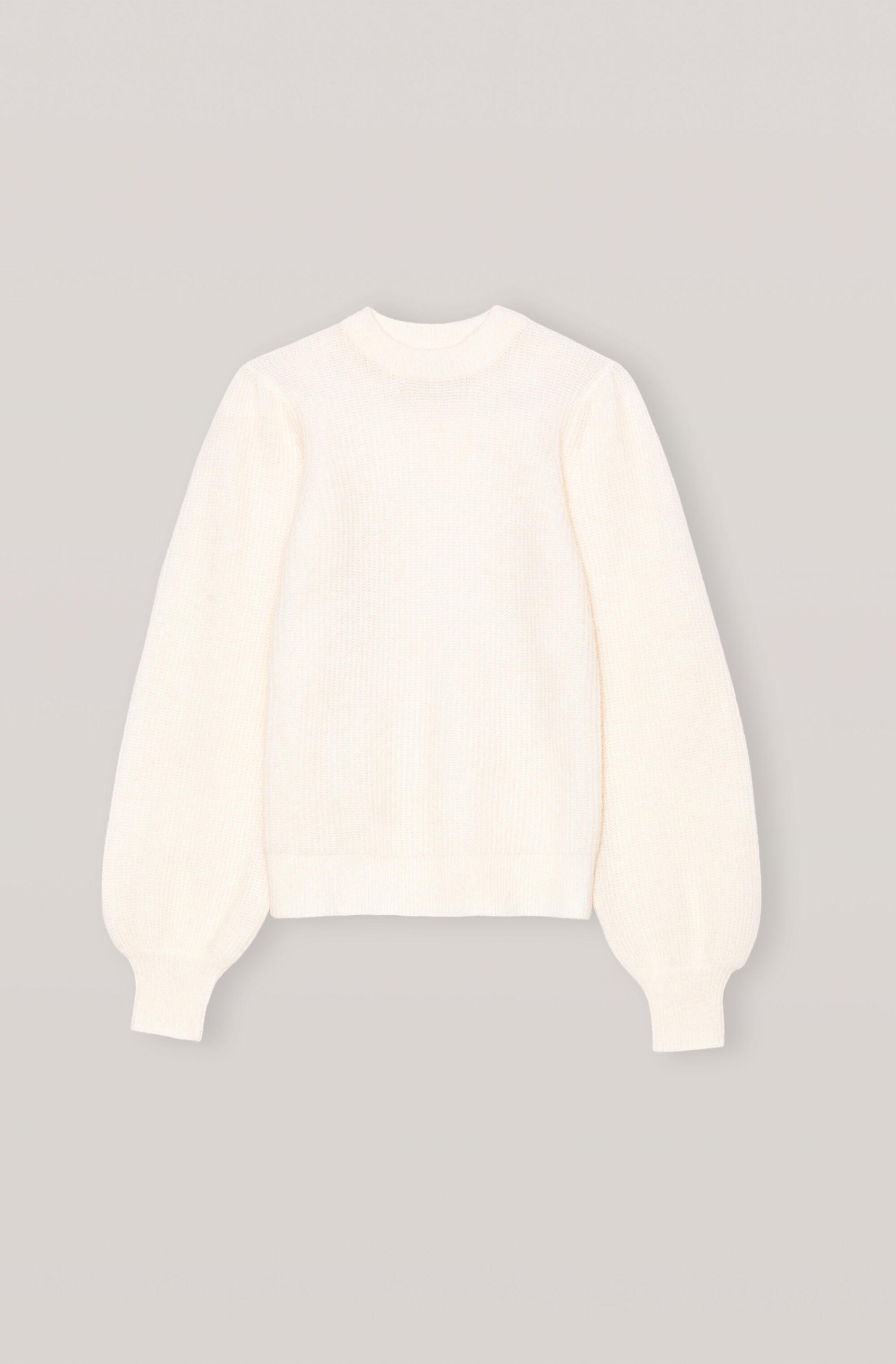 Soft Wool Knit Pullover - Solid 4