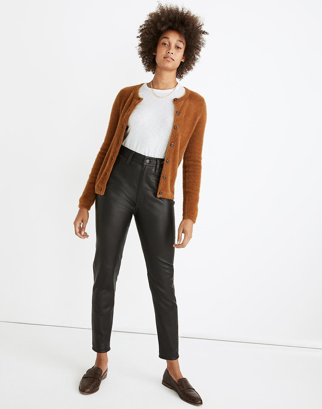 The Perfect Vintage Jean: Leather Edition