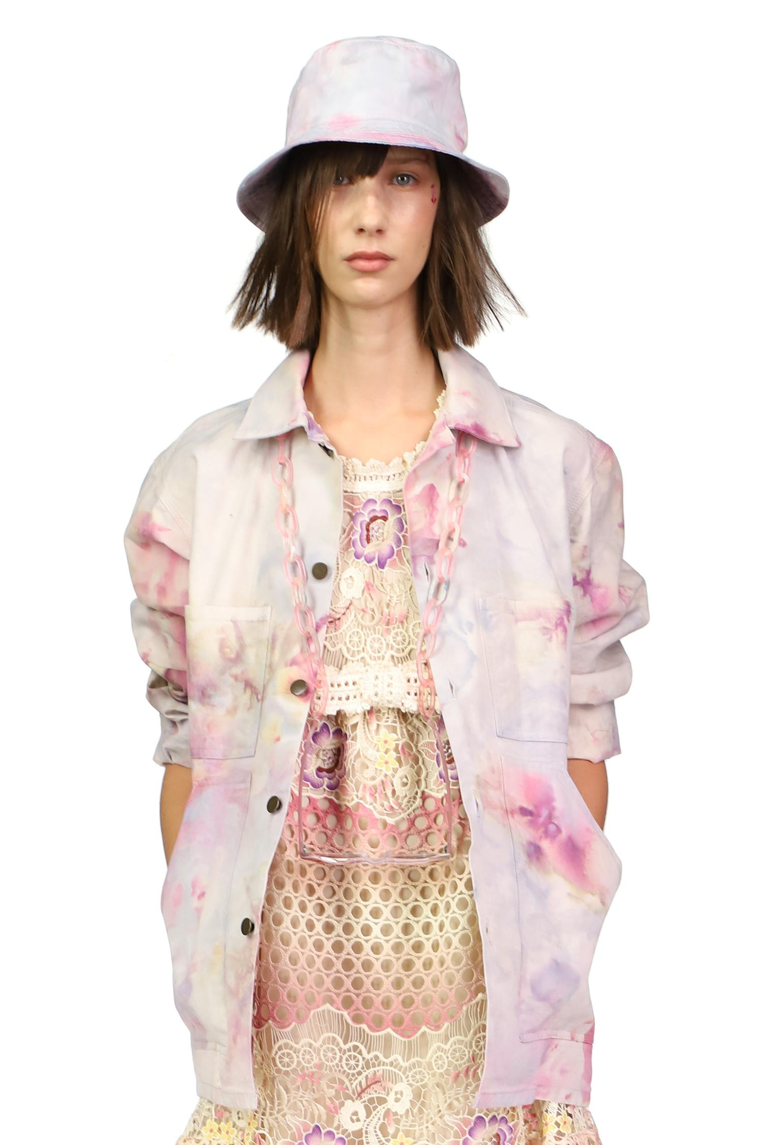 Hand Tie Dyed Vintage Dead Stock Jacket 3