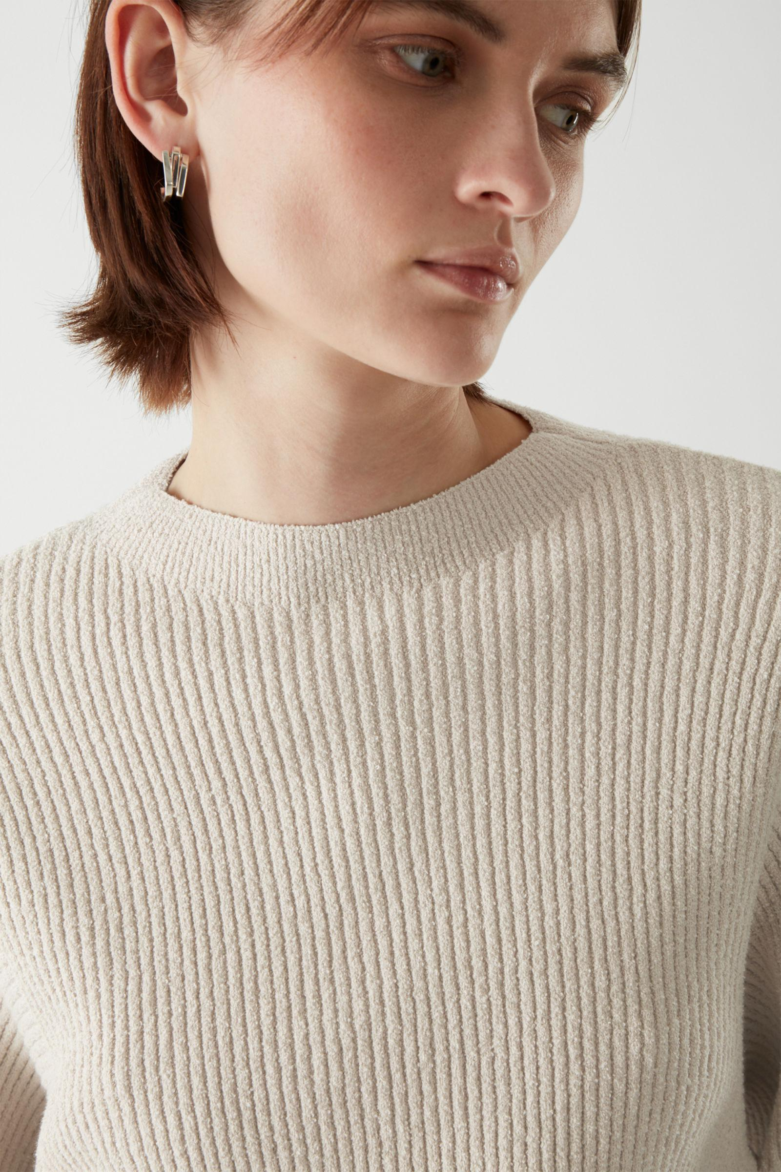 RIBBED KNITTED JUMPER 6