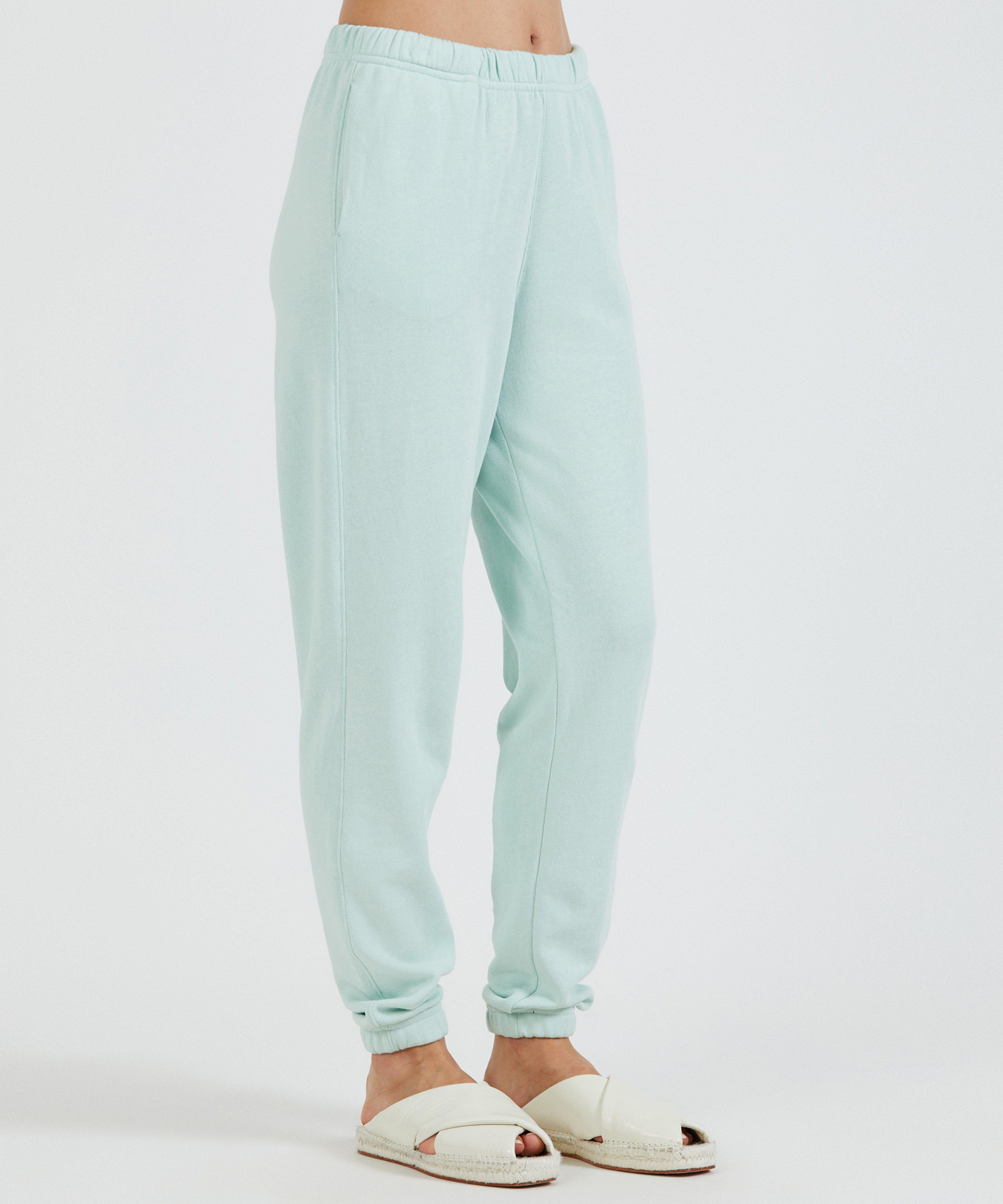 French Terry Pull-On Pant - Mint 1