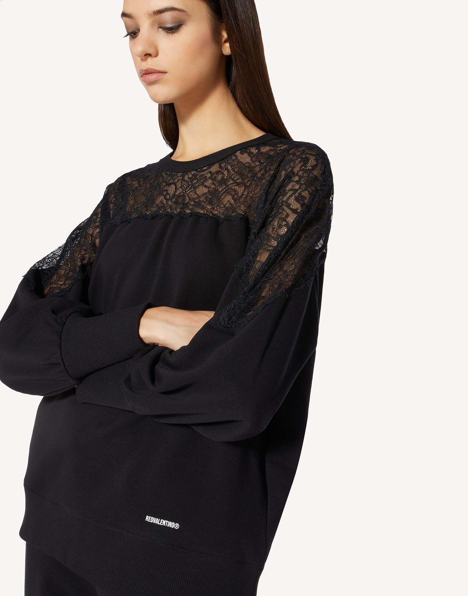 SWEATSHIRT WITH LACE 3