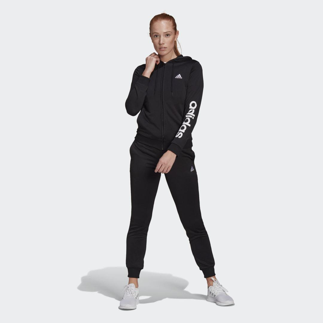 Essentials Logo French Terry Track Suit Black