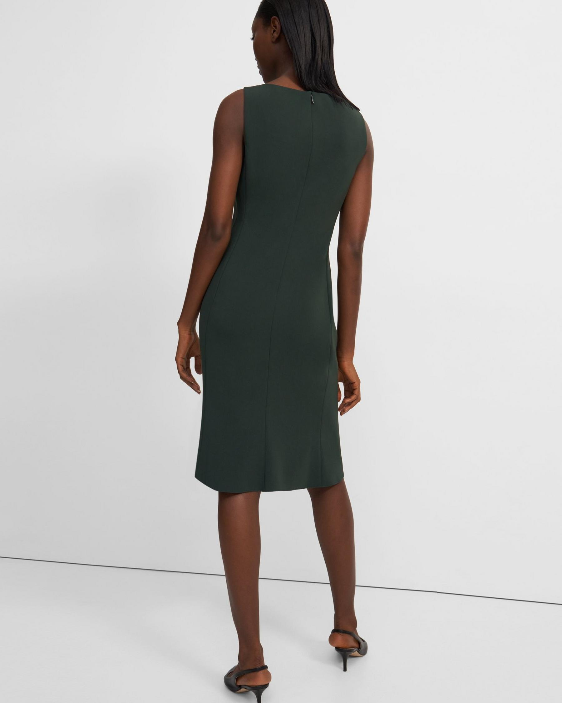 Flared Dress in Crepe 2