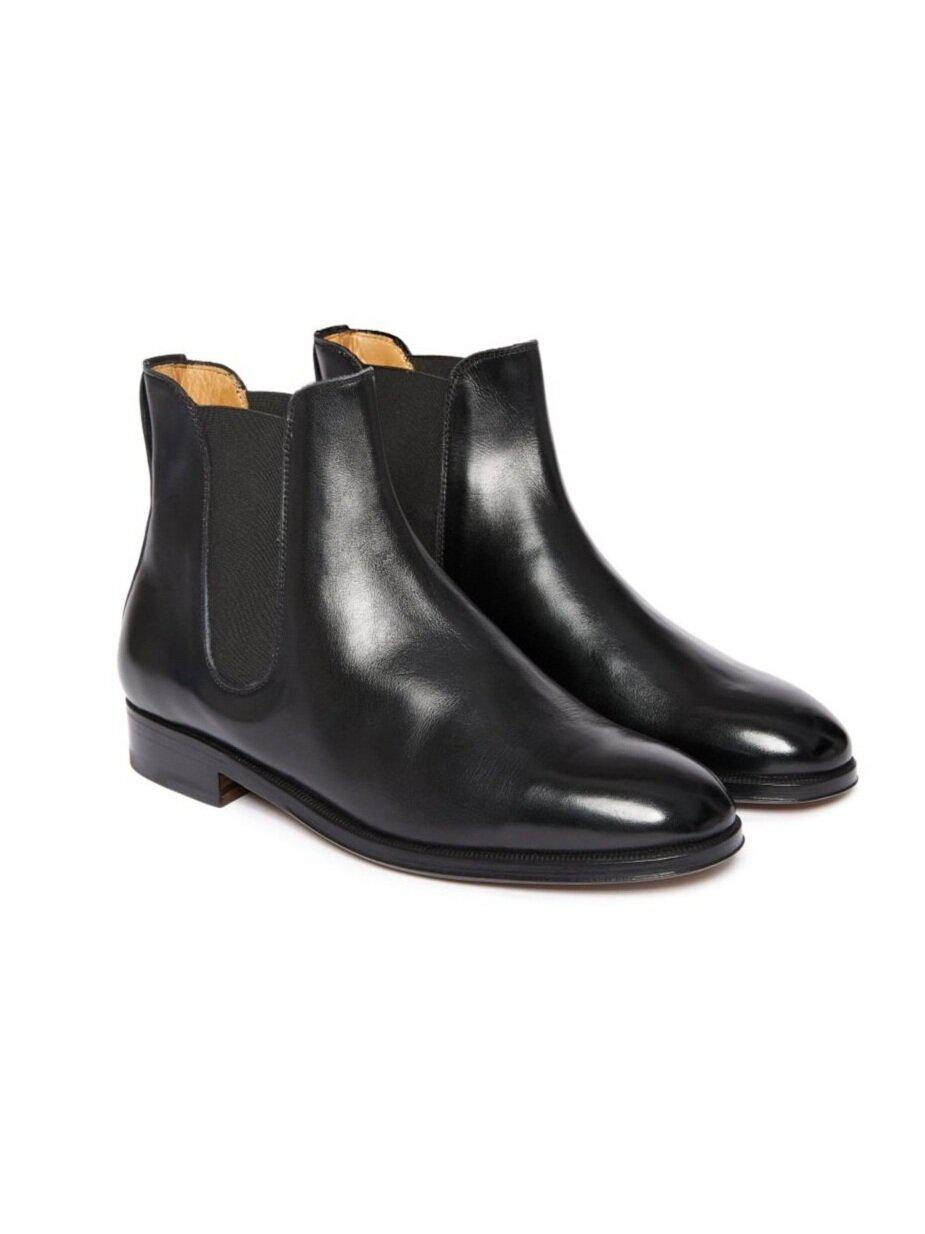 ODPEssentials Classic Chelsea Boot - Black Leather 1