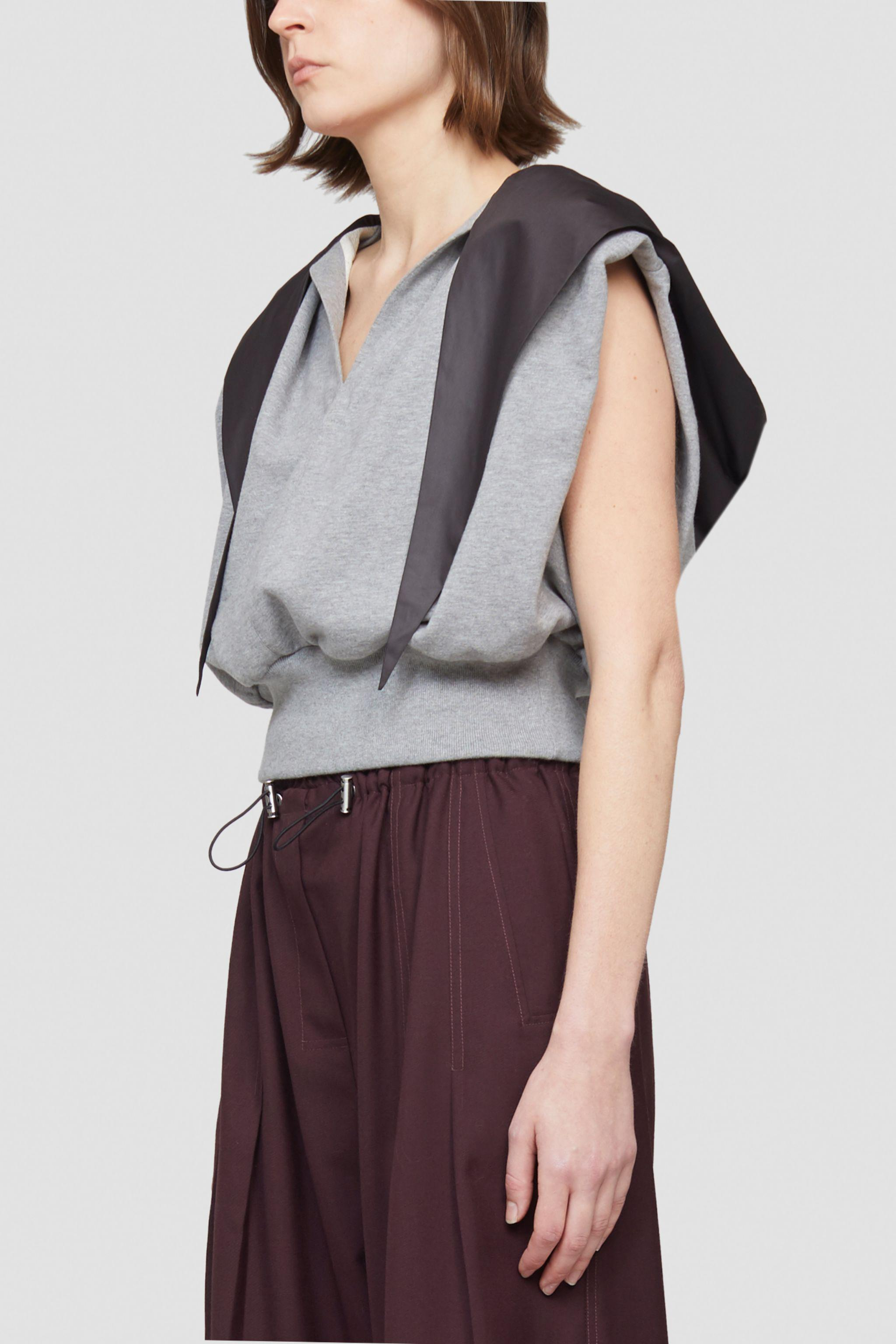 French Terry Hooded Tank Top 1