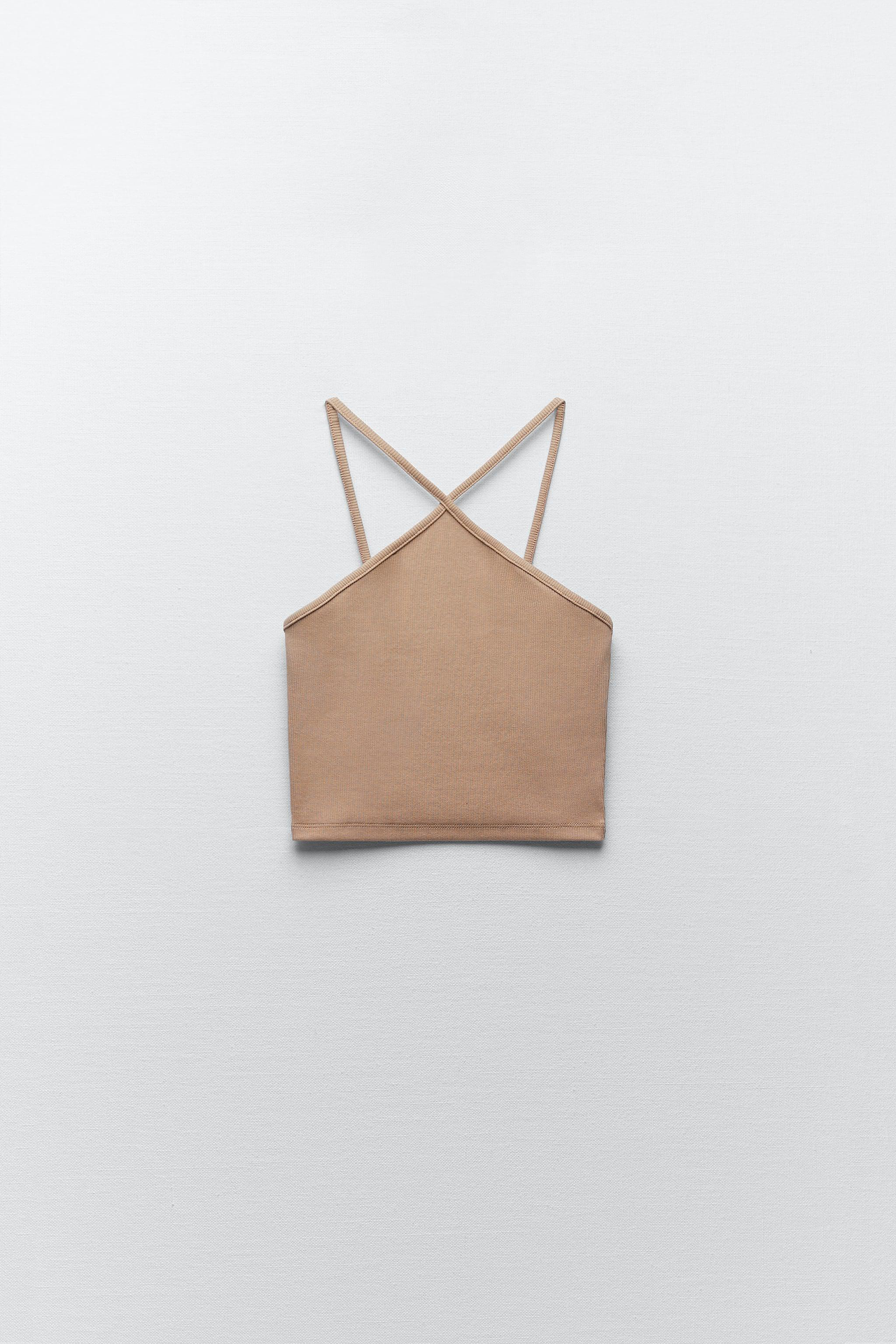 RIBBED CROPPED TOP 3