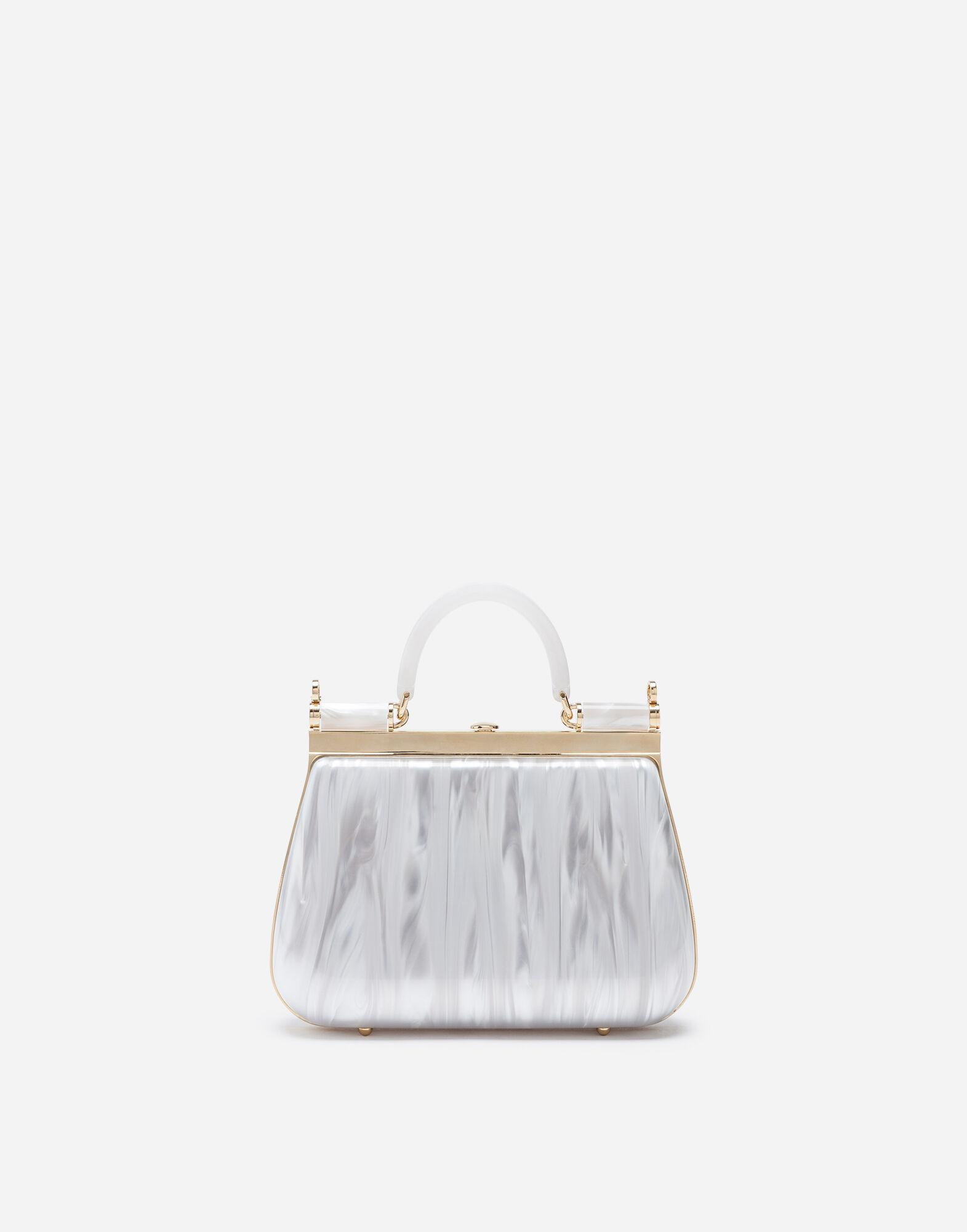 Sicily box bag in mother-of-pearl sint glass 2