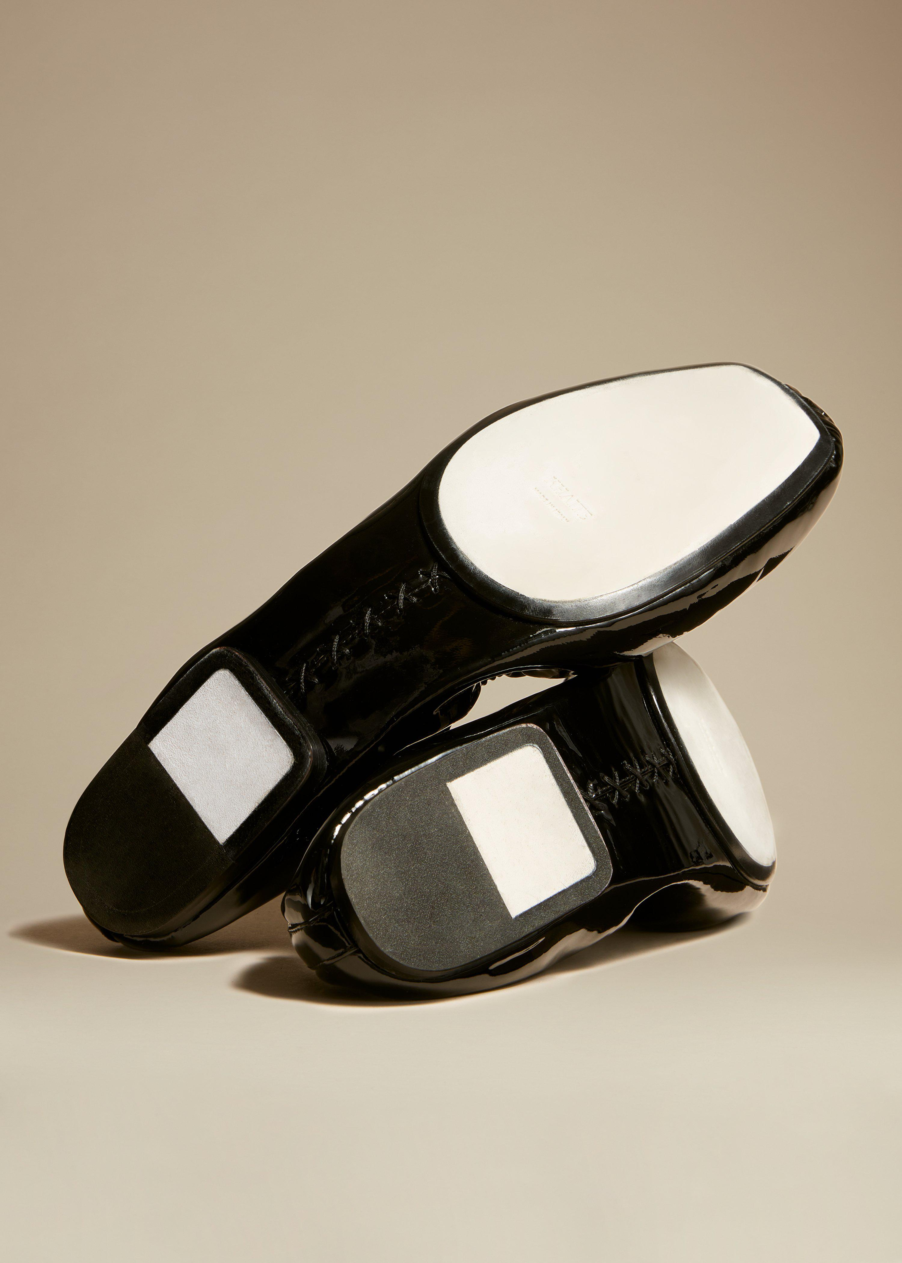 The Ashland Ballet Flat in Black Patent Leather 2