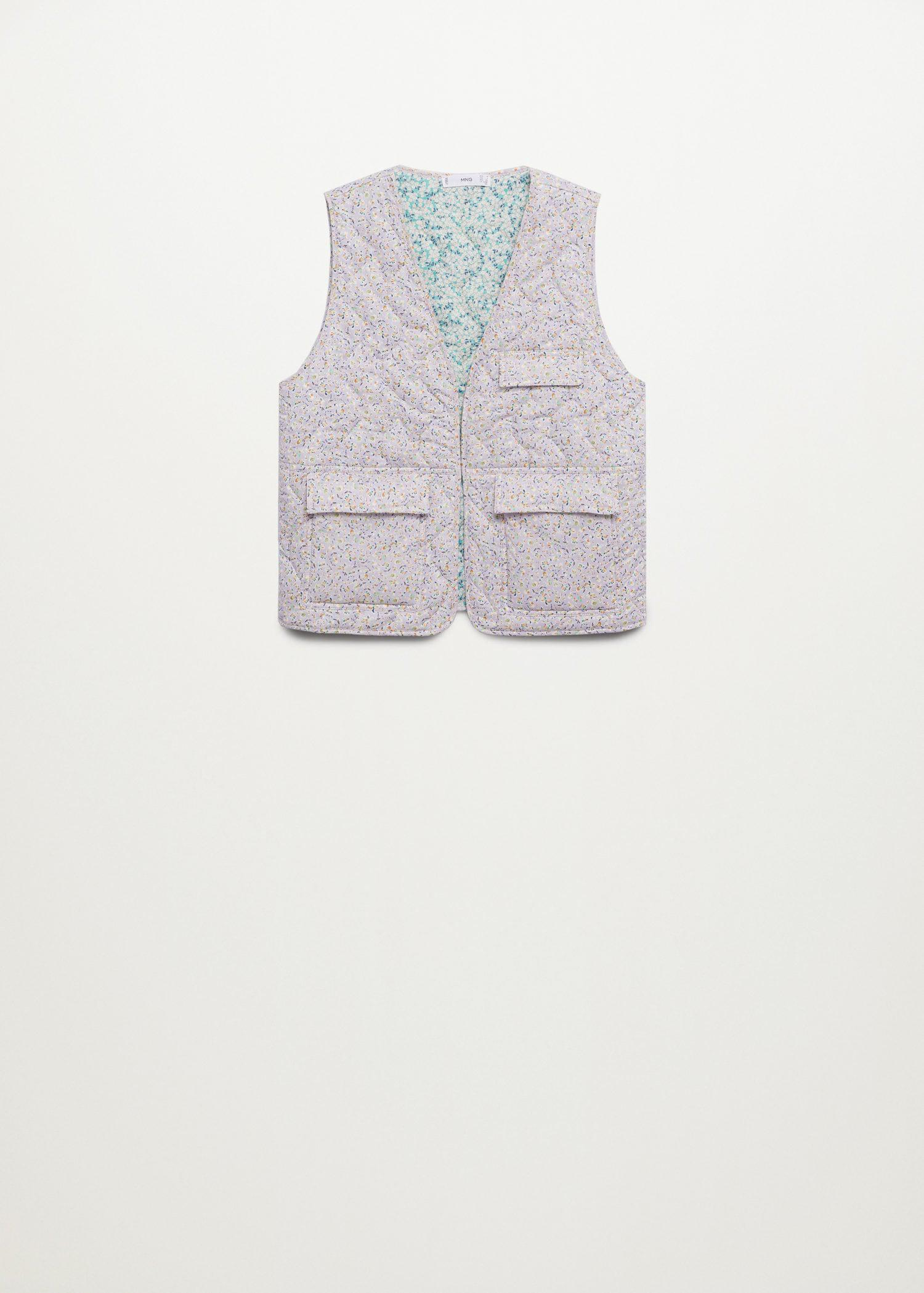 Cotton quilted gilet 7